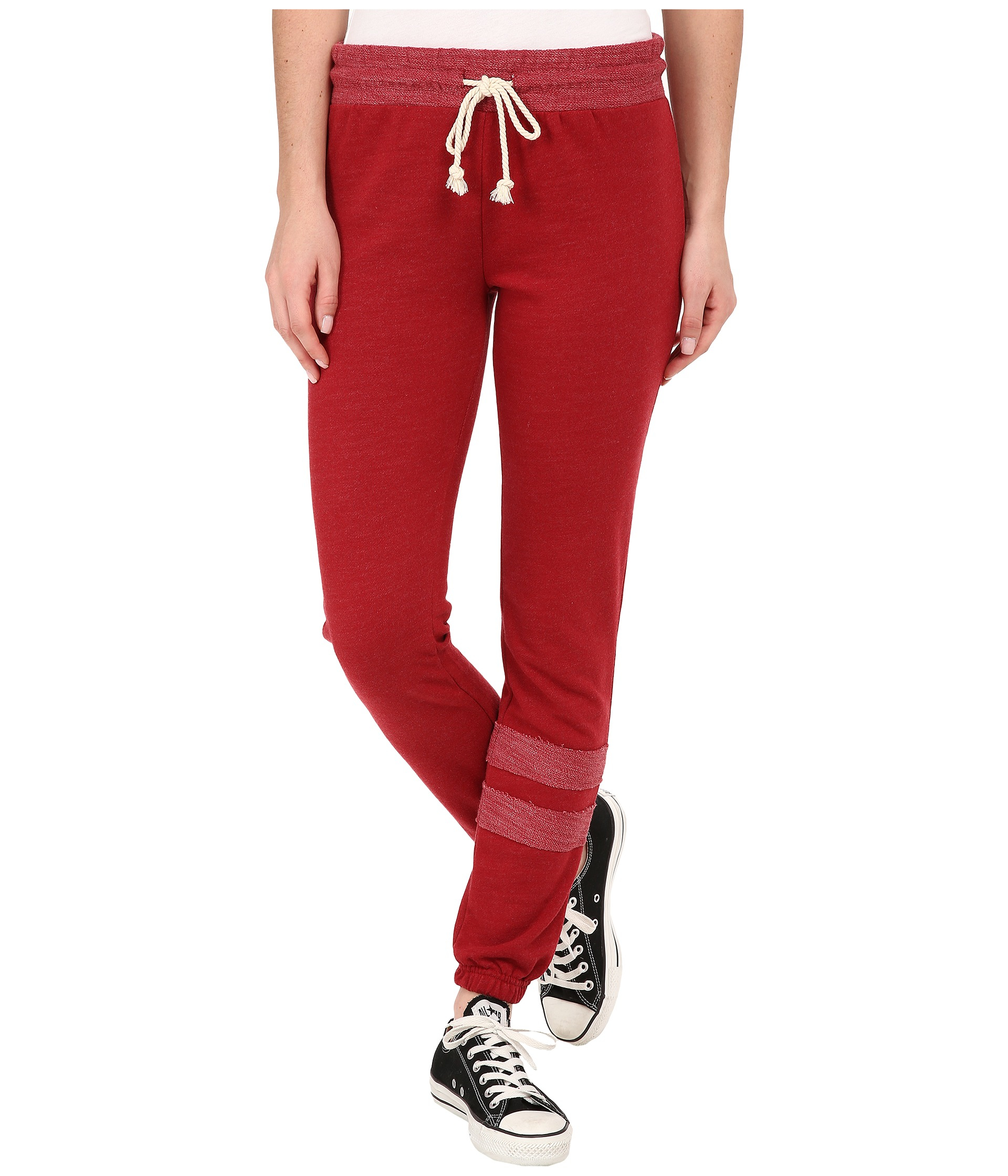 Billabong Kick Back Pants in Red | Lyst