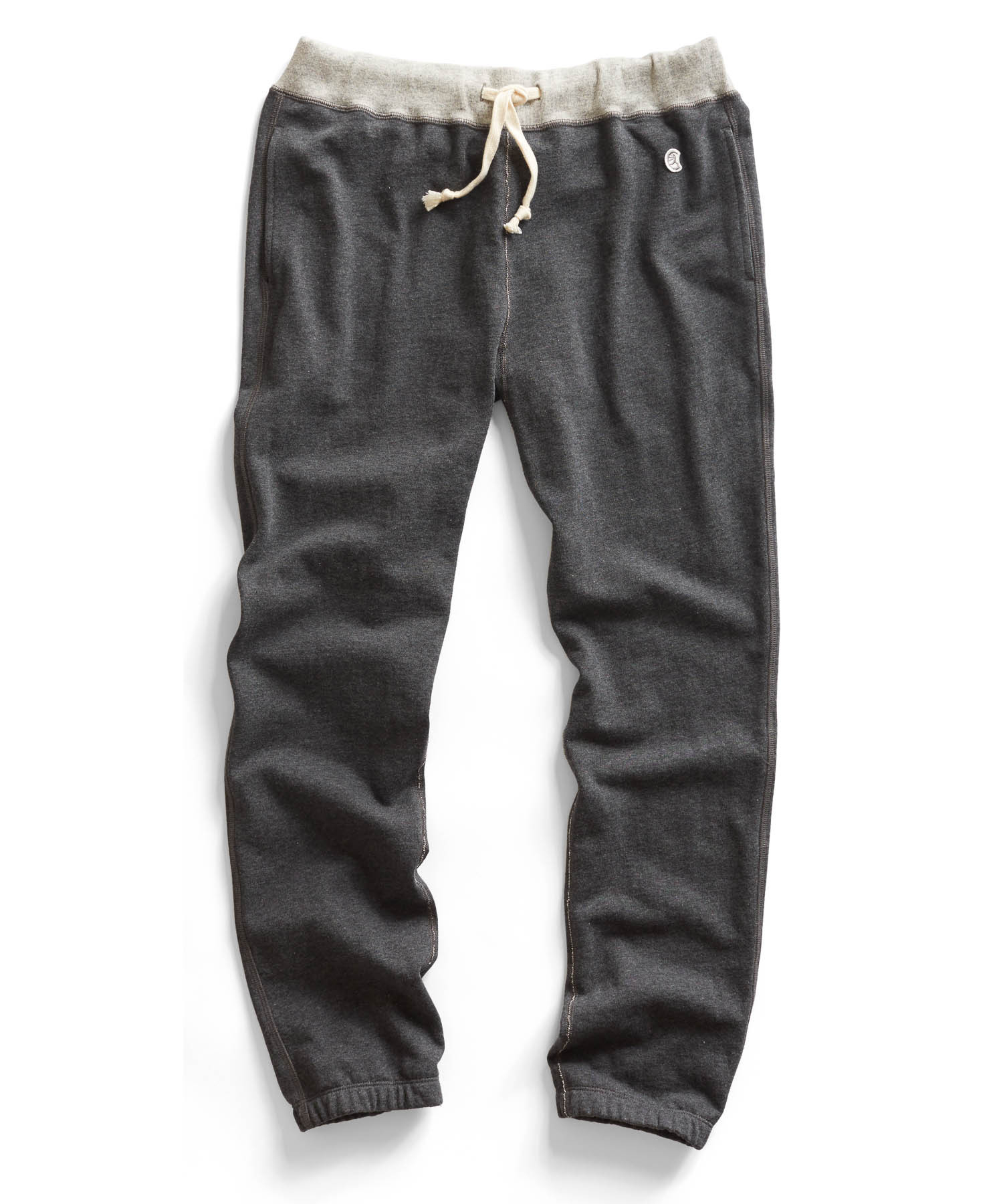 Todd Snyder Classic Sweatpant In Black Pepper In Gray For
