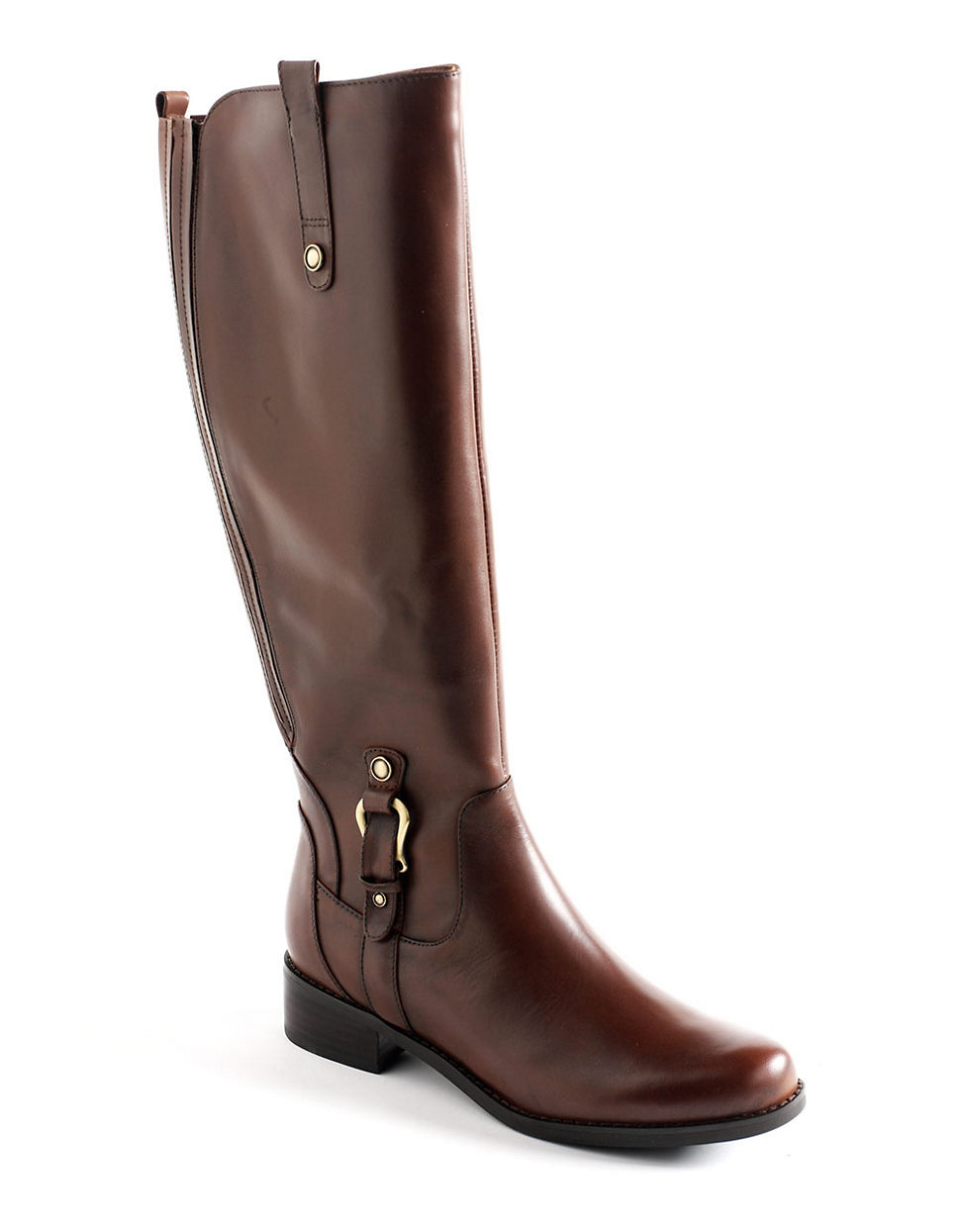 blondo venise waterproof leather boots in brown lyst