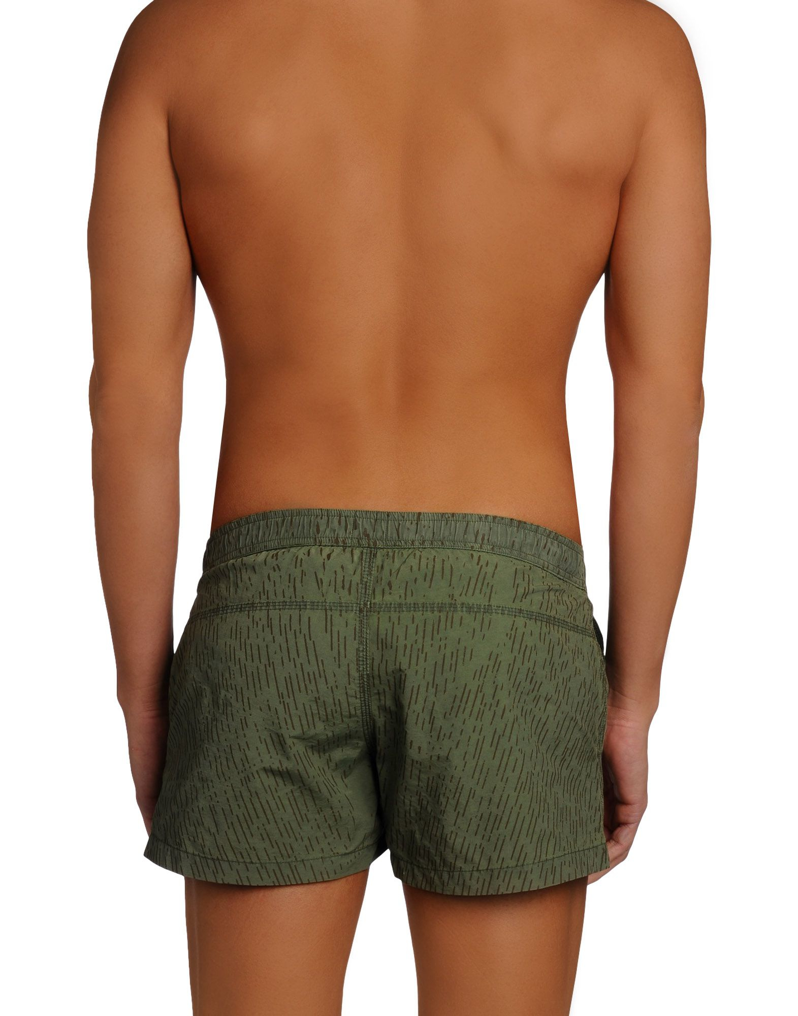 Replay Swimming Trunk in Green for Men