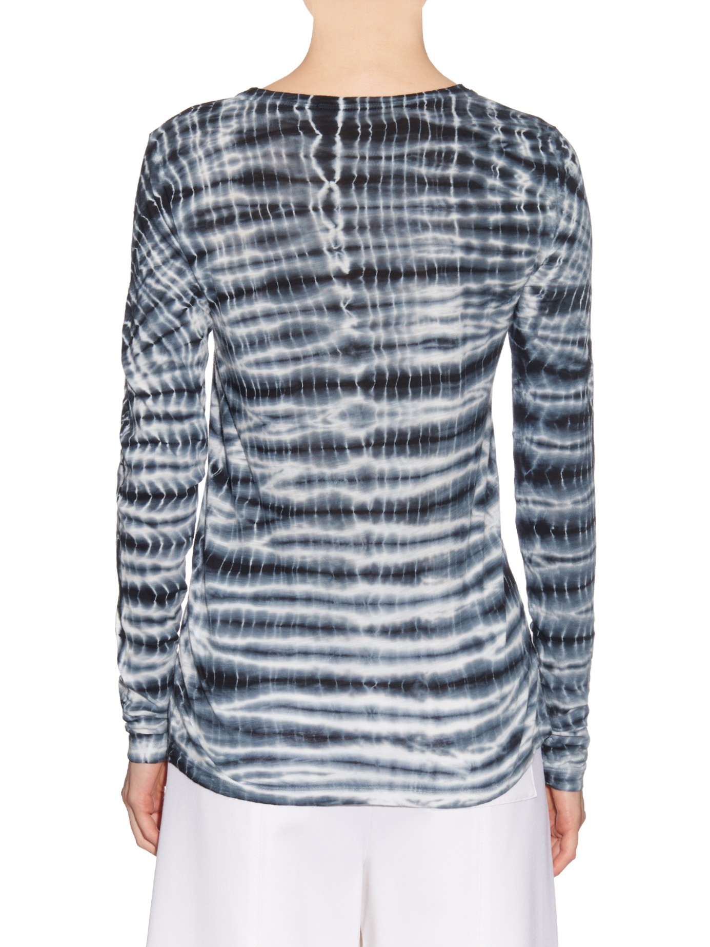 Proenza Schouler printed tied top Free Shipping Wide Range Of Lowest Price Cheap Price Discount Fashionable Free Shipping Low Price Free Shipping Footlocker Pictures bZXI8lV2r