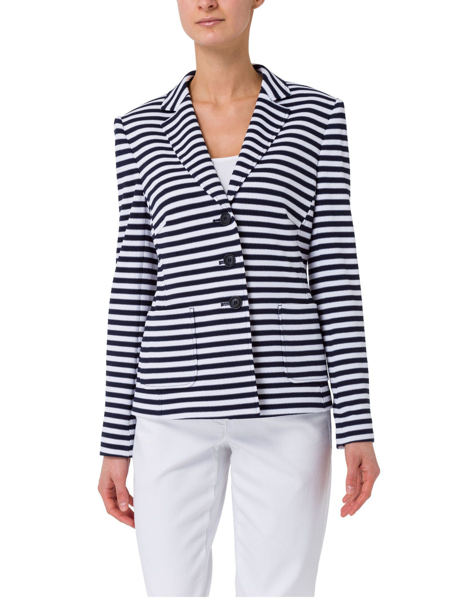 Shop womens blazers cheap sale online, you can buy white blazers, black blazers, velvet blazers and navy blue blazer jackets for women at wholesale prices on. Shop the latest collection of blue and white striped blazer for women from the most popular.
