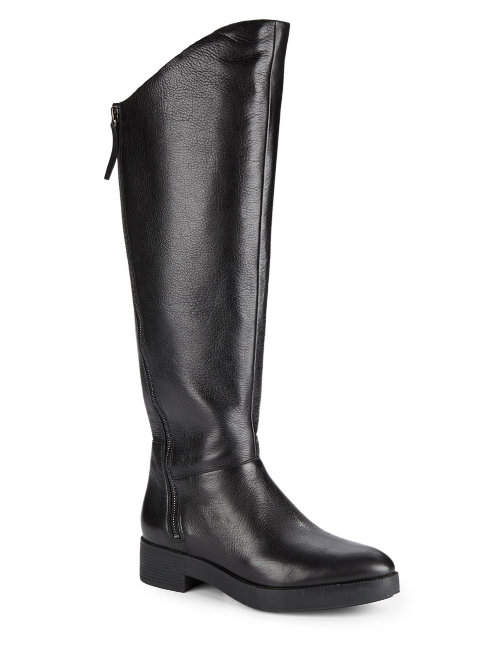 kenneth cole jael leather boots in black lyst