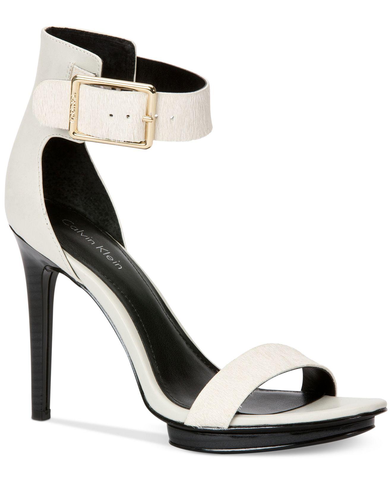 calvin klein shoes brigitte bardot