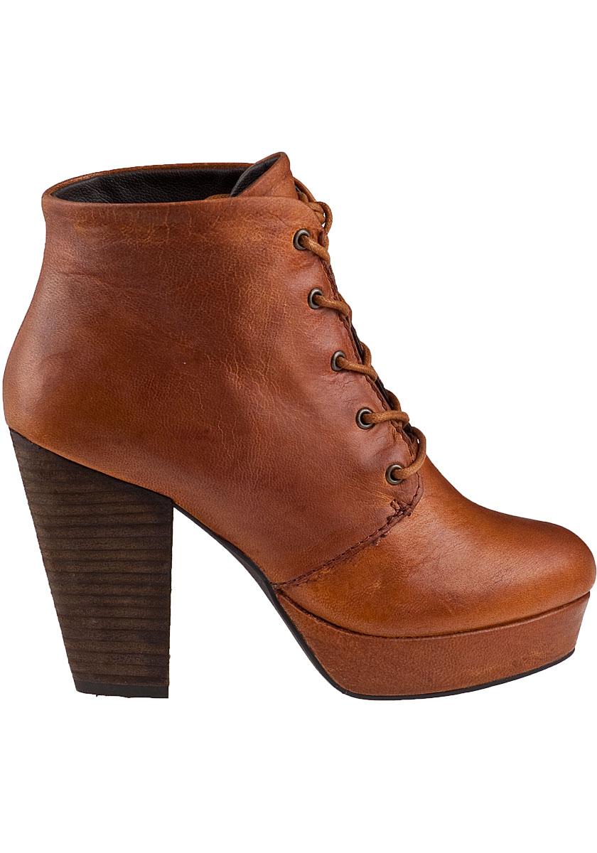 d46924766a5 Lyst - Steve Madden Raspy Platform Boot Cognac Leather in Brown