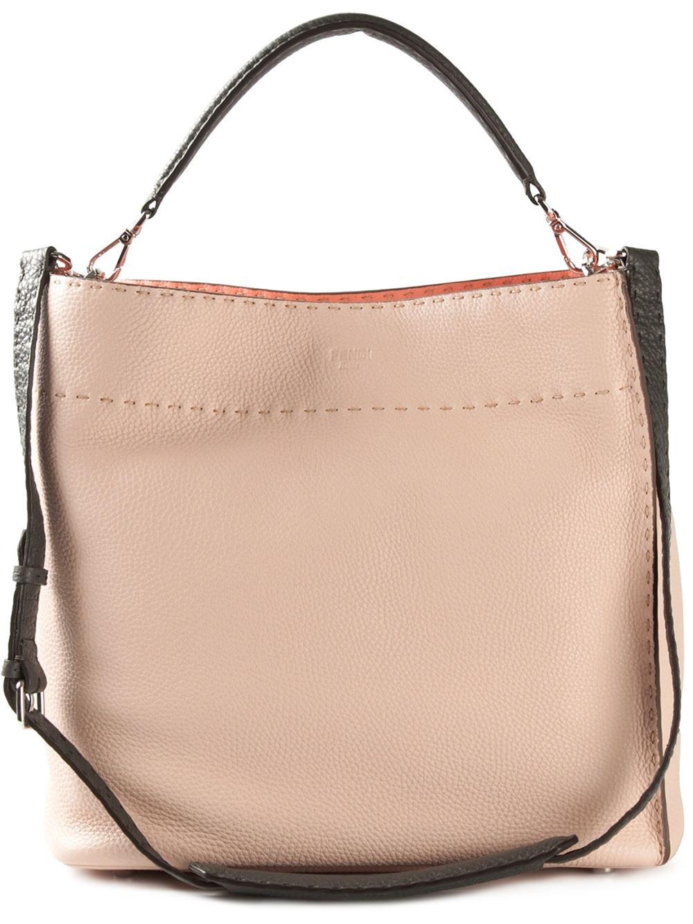 Messenger shoulder bag - Nude & Neutrals Fendi CQRPwvXbe