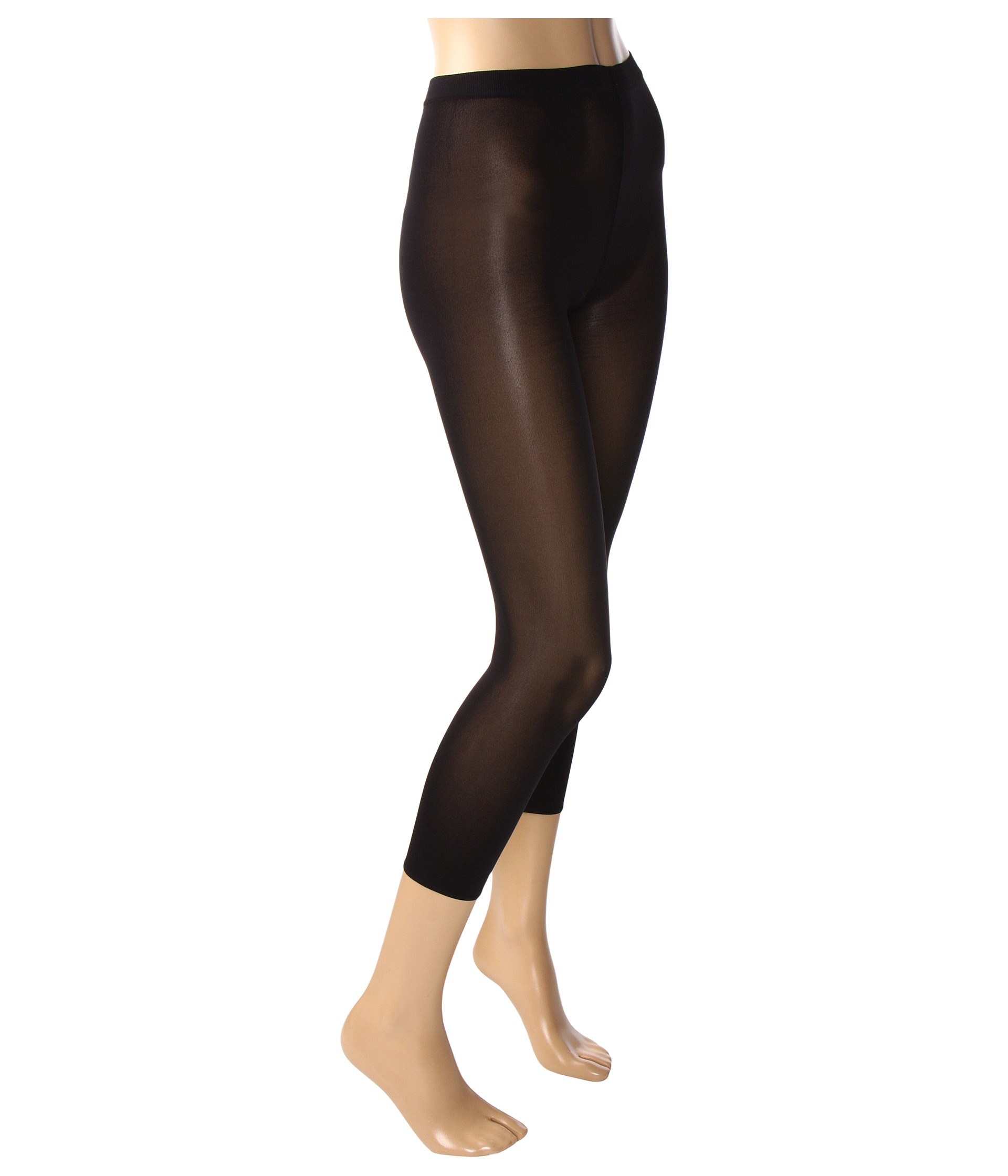 8a155608bba6 Wolford Velvet 66 Capri Leggings in Black
