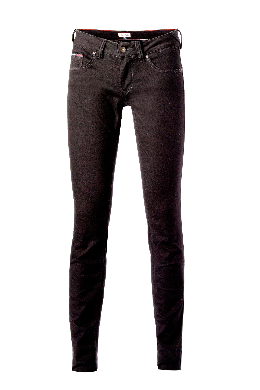 tommy hilfiger sophie skinny jeans in black lyst. Black Bedroom Furniture Sets. Home Design Ideas