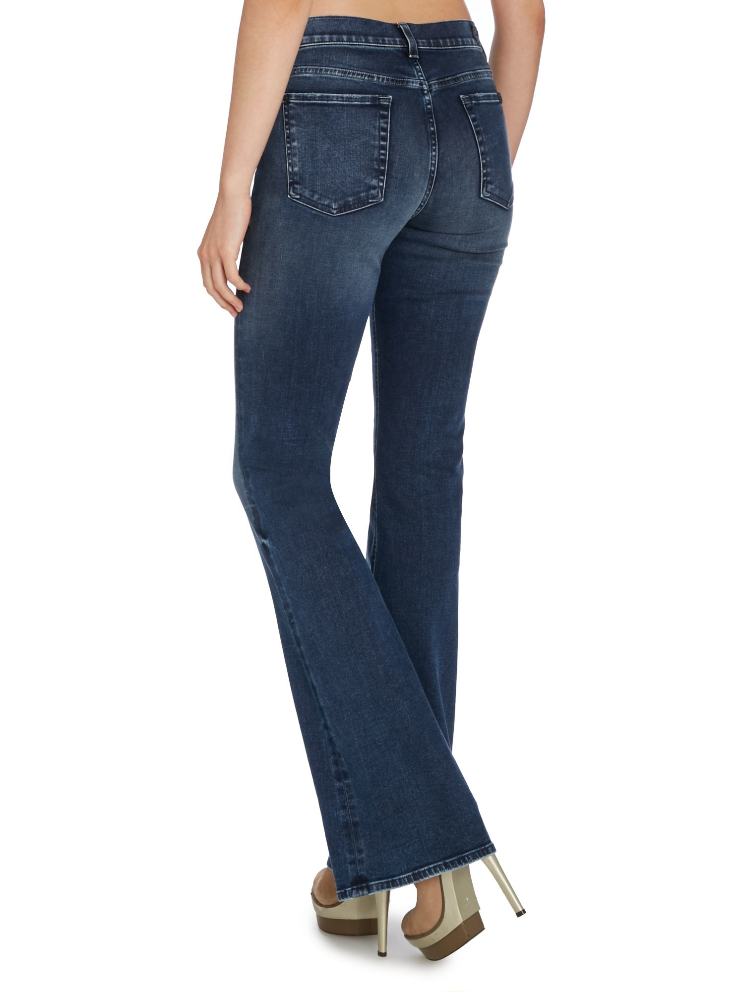 bootcut jeans - Blue 7 For All Mankind Uqs3MPa