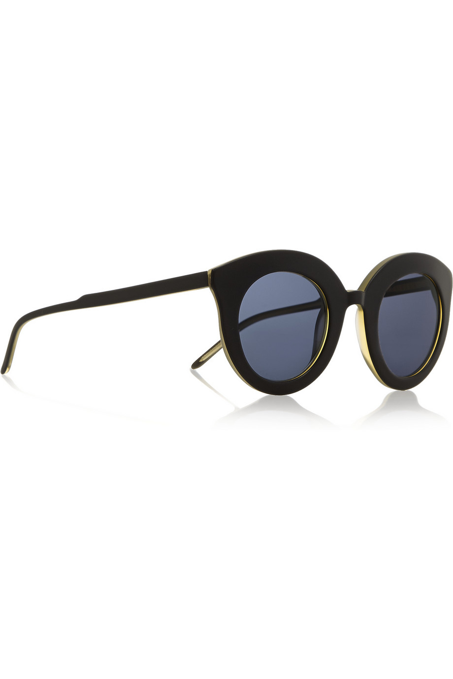 4edb0fb3a4 Lyst - Finds + Kaibosh Song Of The Siren Cat Eye Acetate Sunglasses ...