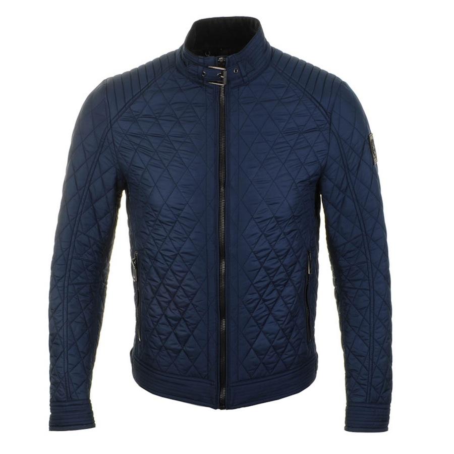 Belstaff Bramley Racer Jacket Racing In Blue For Men Lyst