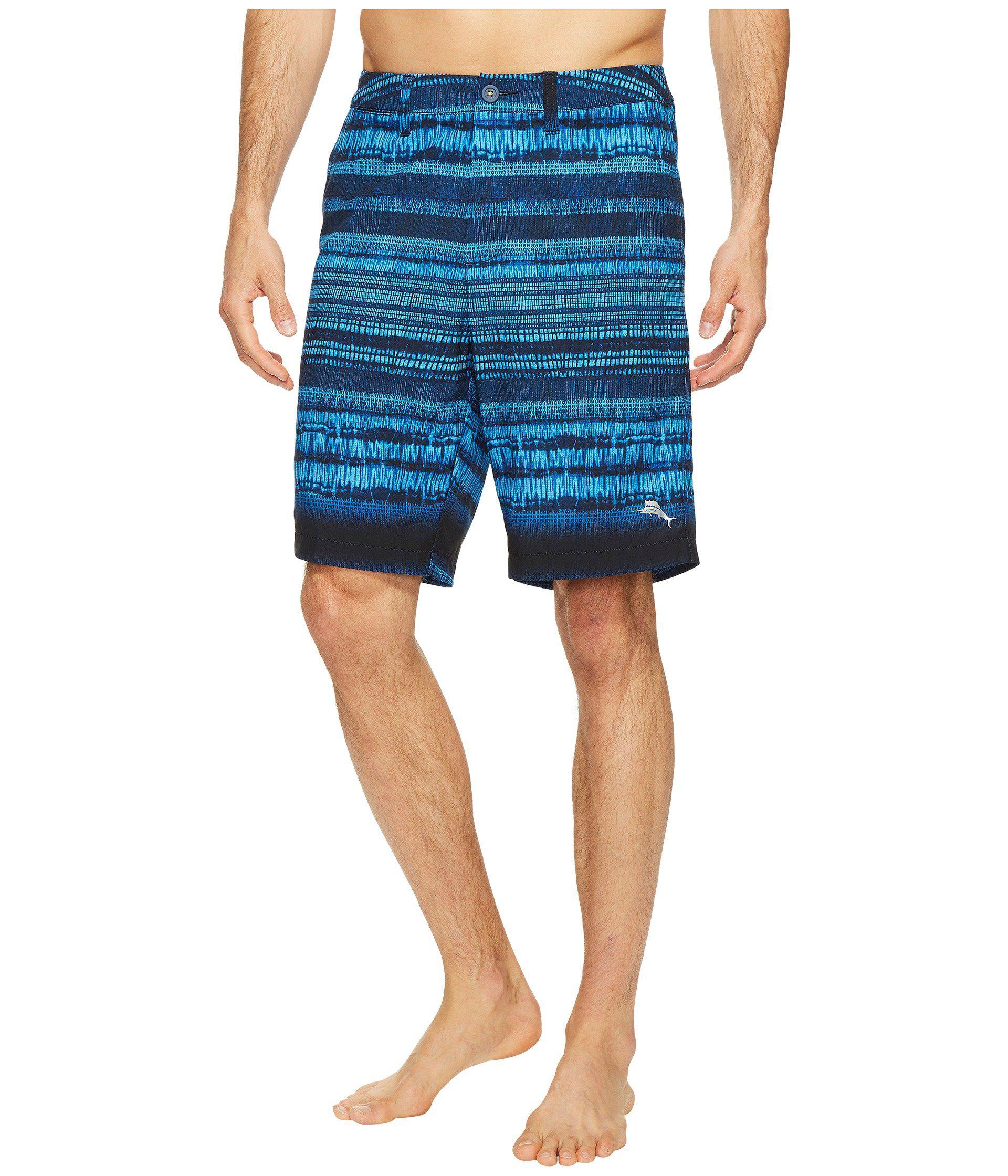 cb27483ffa Lyst - Tommy Bahama Cayman Tripoli Tie-dye Swim Trunk in Blue for ...