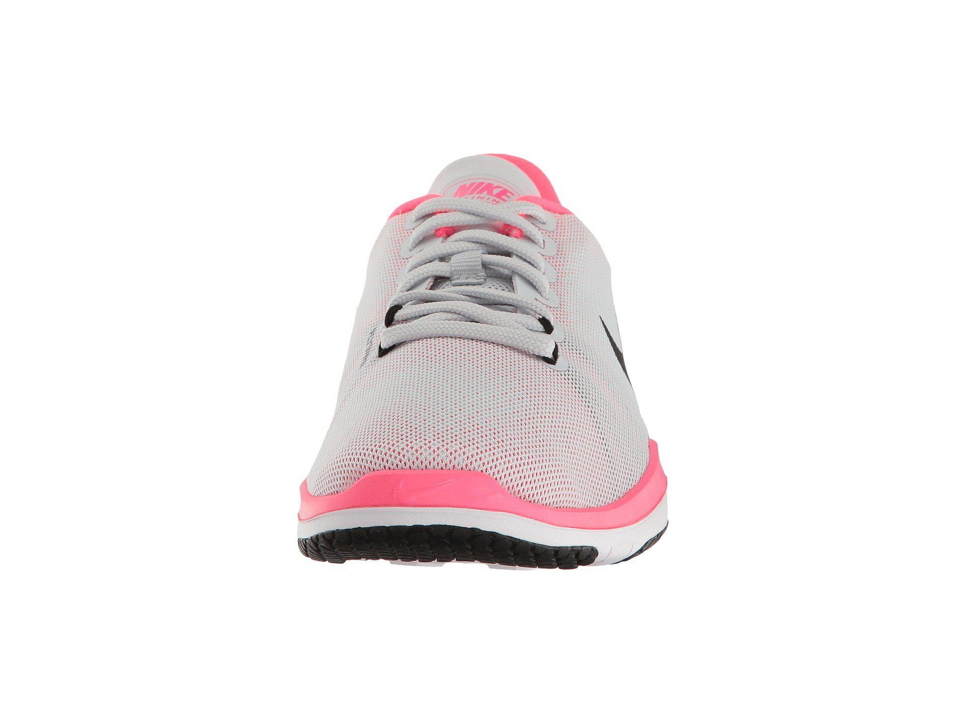 8a35596ecf4f5 Lyst - Nike Flex Supreme Tr 5 in Pink