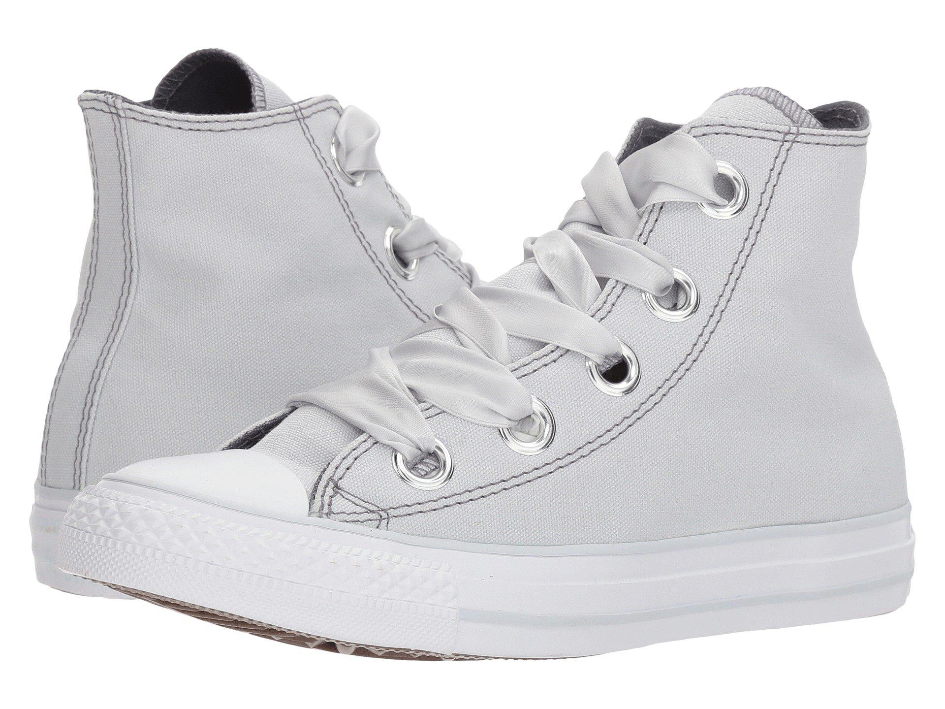 5b55f919016 Lyst - Converse Chuck Taylor® All Star Pastel Canvas Big Eyelet Hi ...
