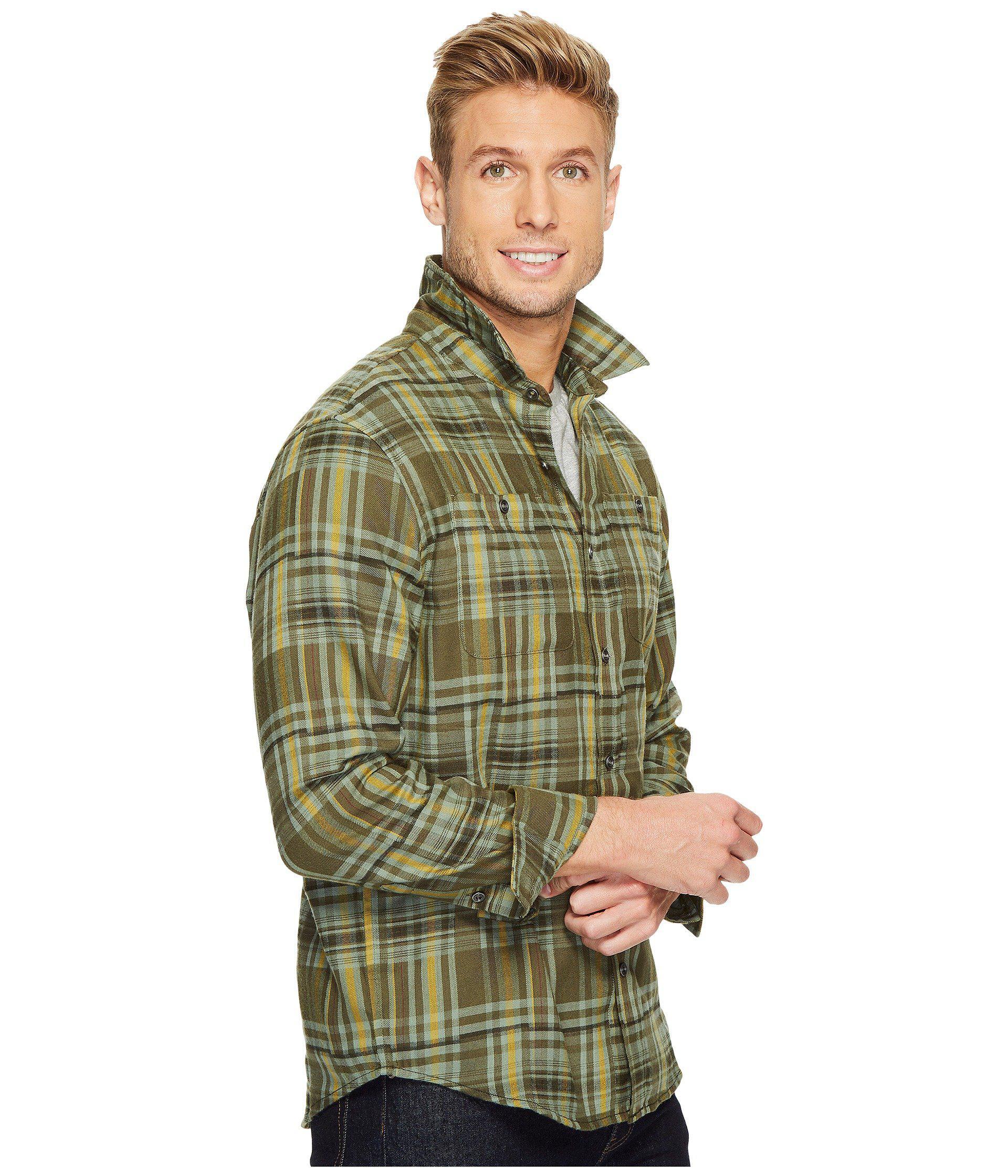 Lyst Prana Stratford Long Sleeve Shirt In Green For Men Save 125