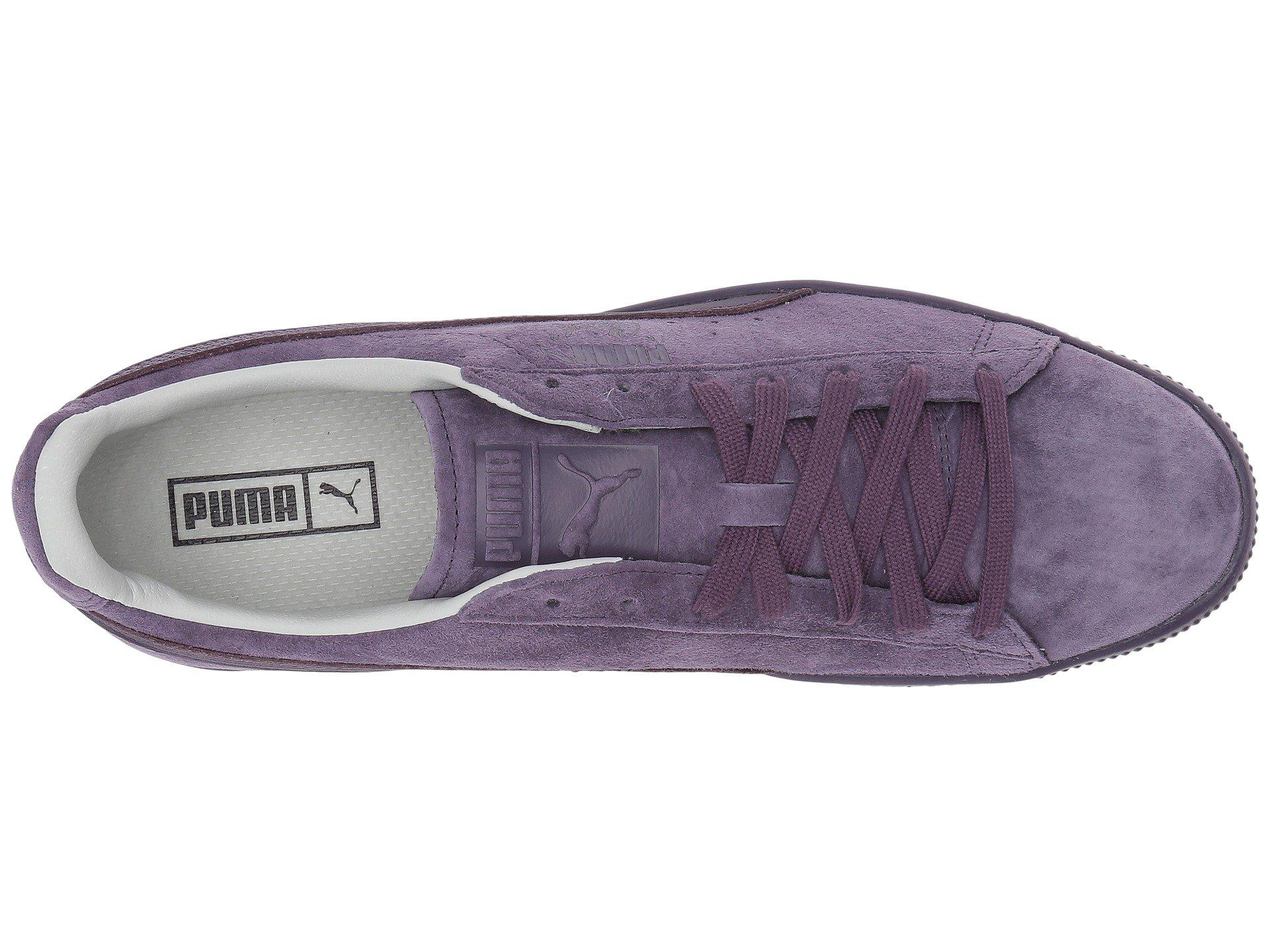 8082a63232ae Lyst - PUMA Clyde Normcore in Purple