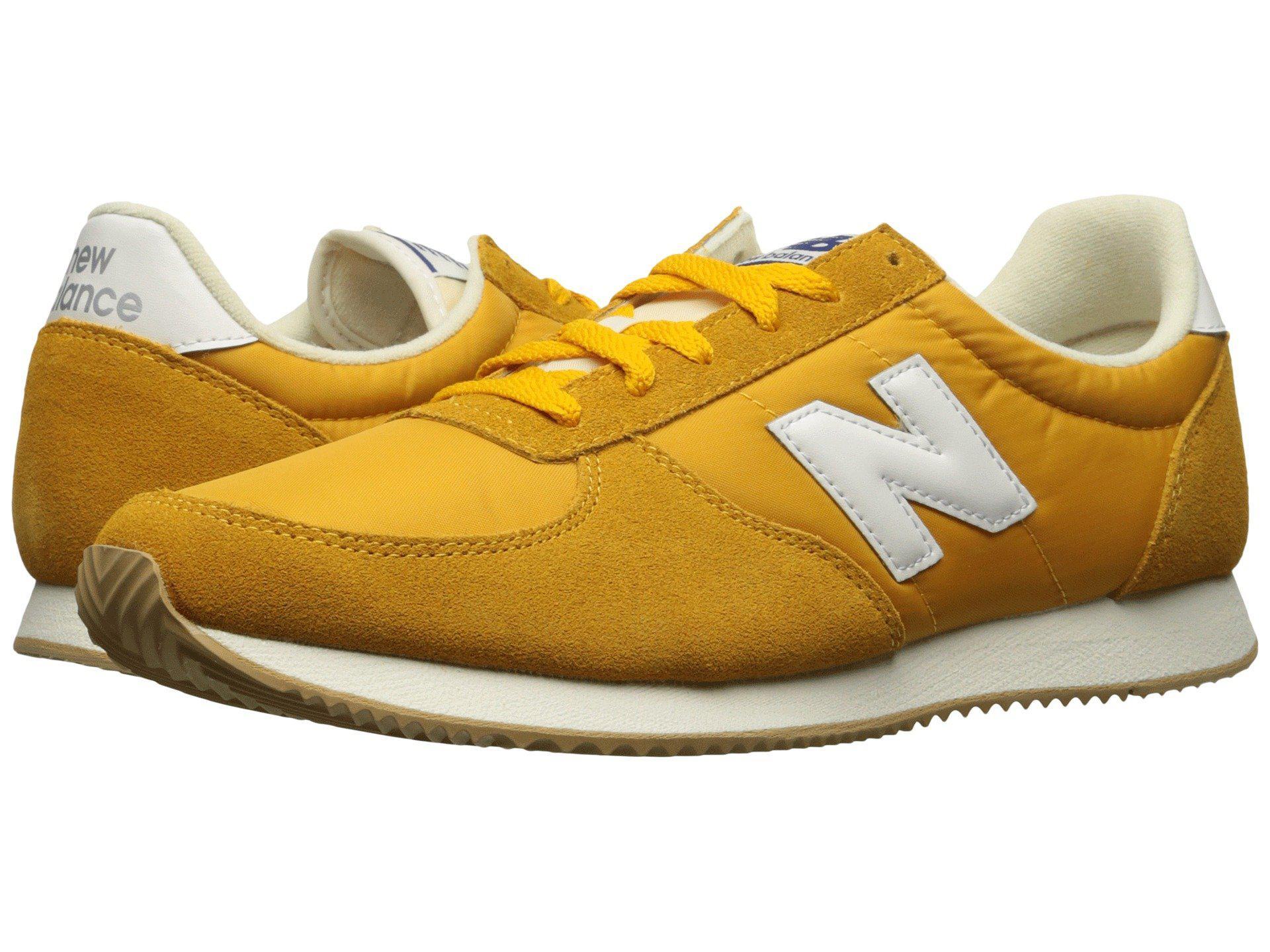 New Balance Men's Sneakers U220 Classic Yellow