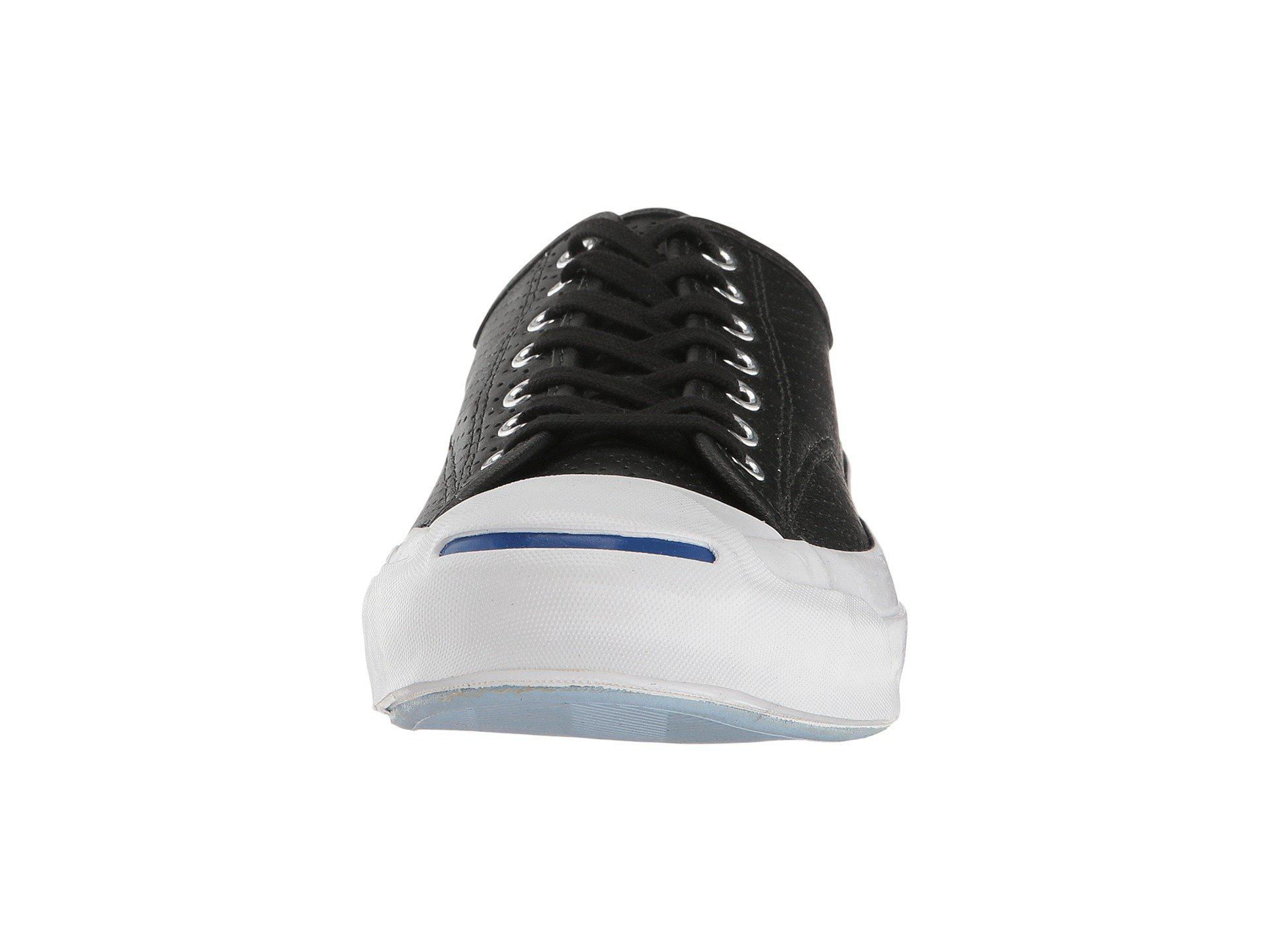1806cda74fa6 Lyst - Converse Jack Purcell® Signature Perf d Goat Leather Ox in ...