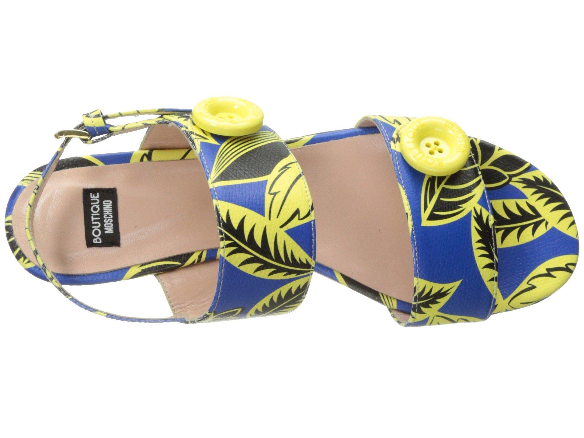 Tropic Button Sandal Boutique Moschino tqvdKqdA