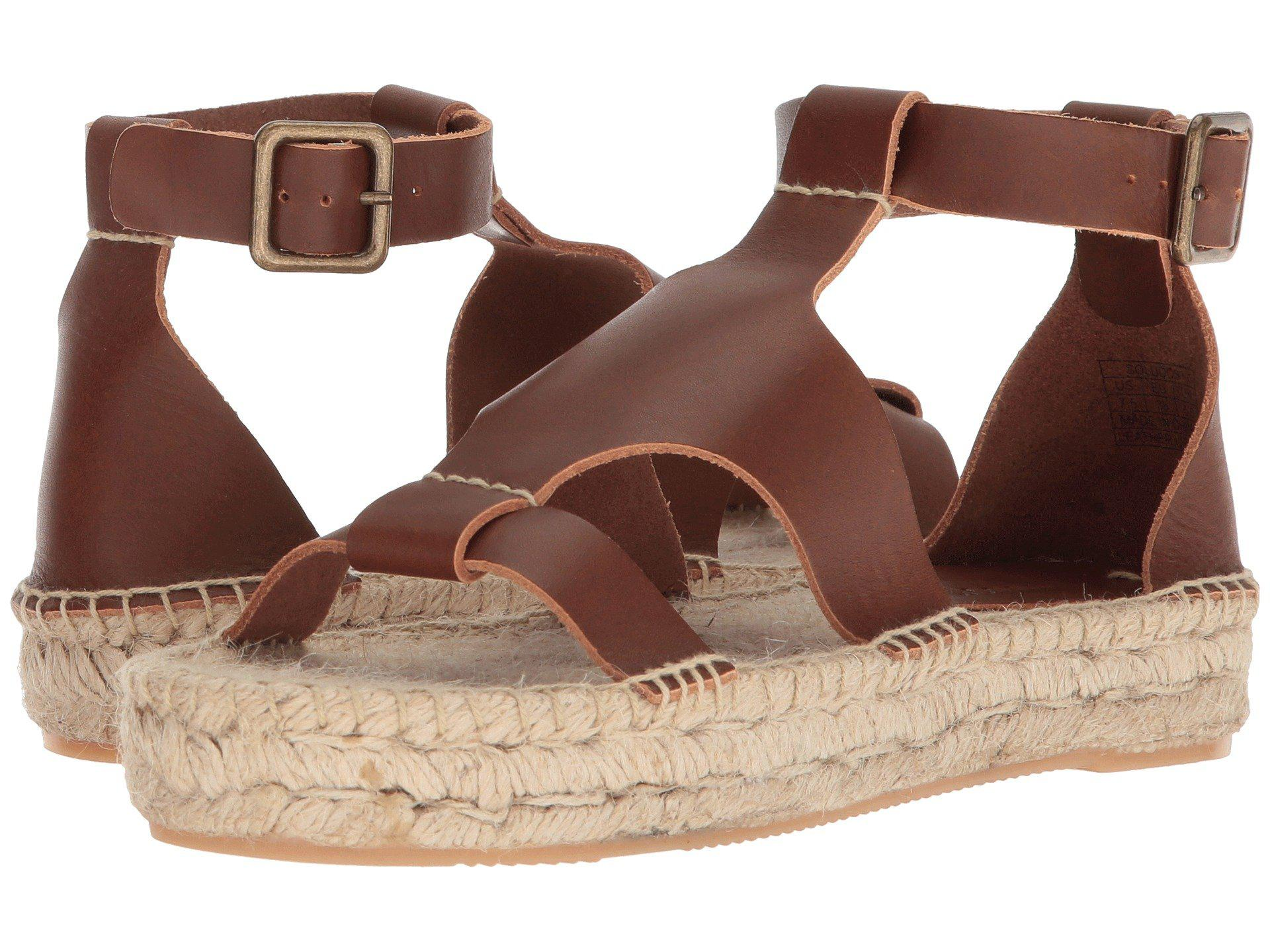 b72333a33ee Lyst - Soludos Banded Shield Sandal in Brown - Save 21%