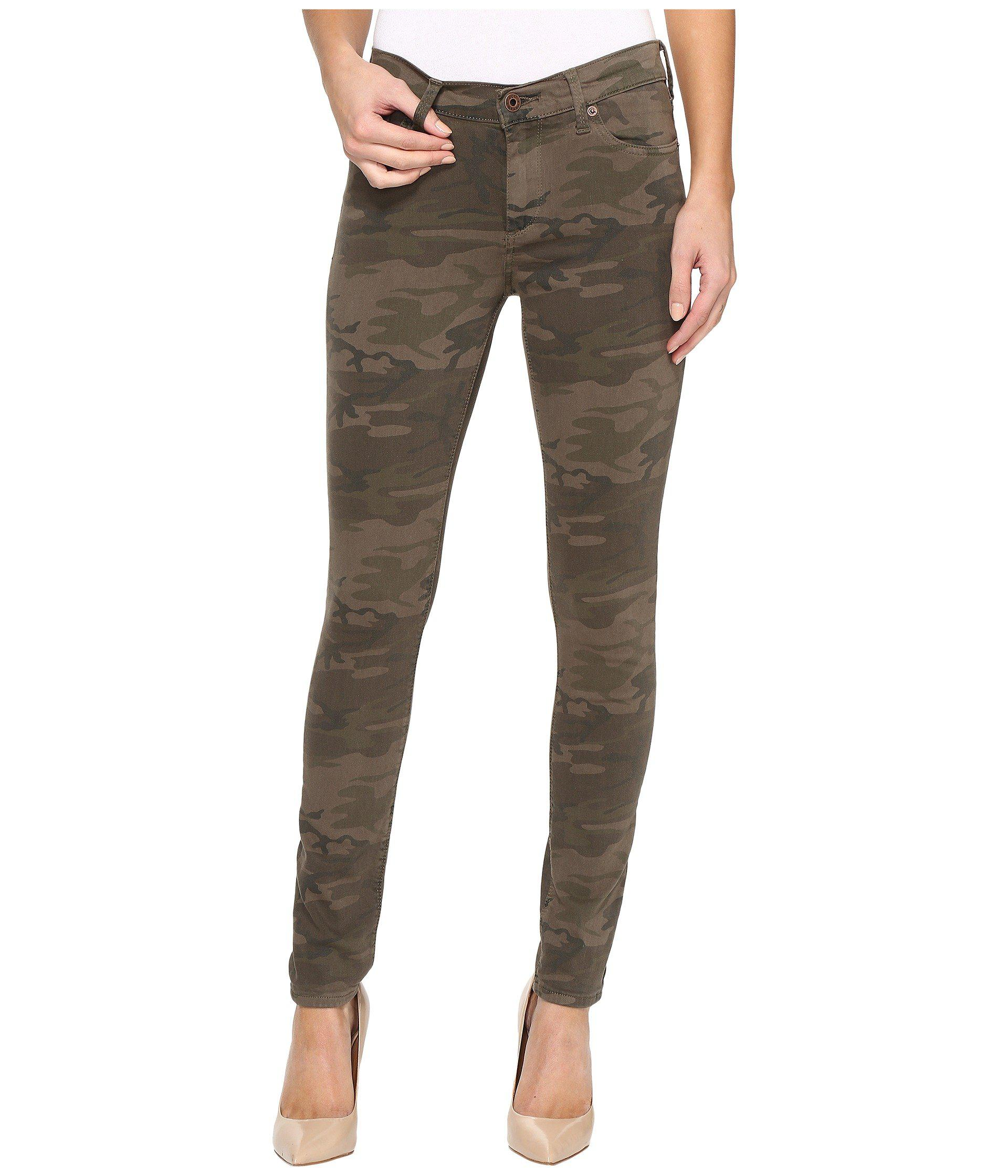 f4e266917bc2d Lucky Brand Brooke Legging Jeans In Jagged Camo in Green - Lyst