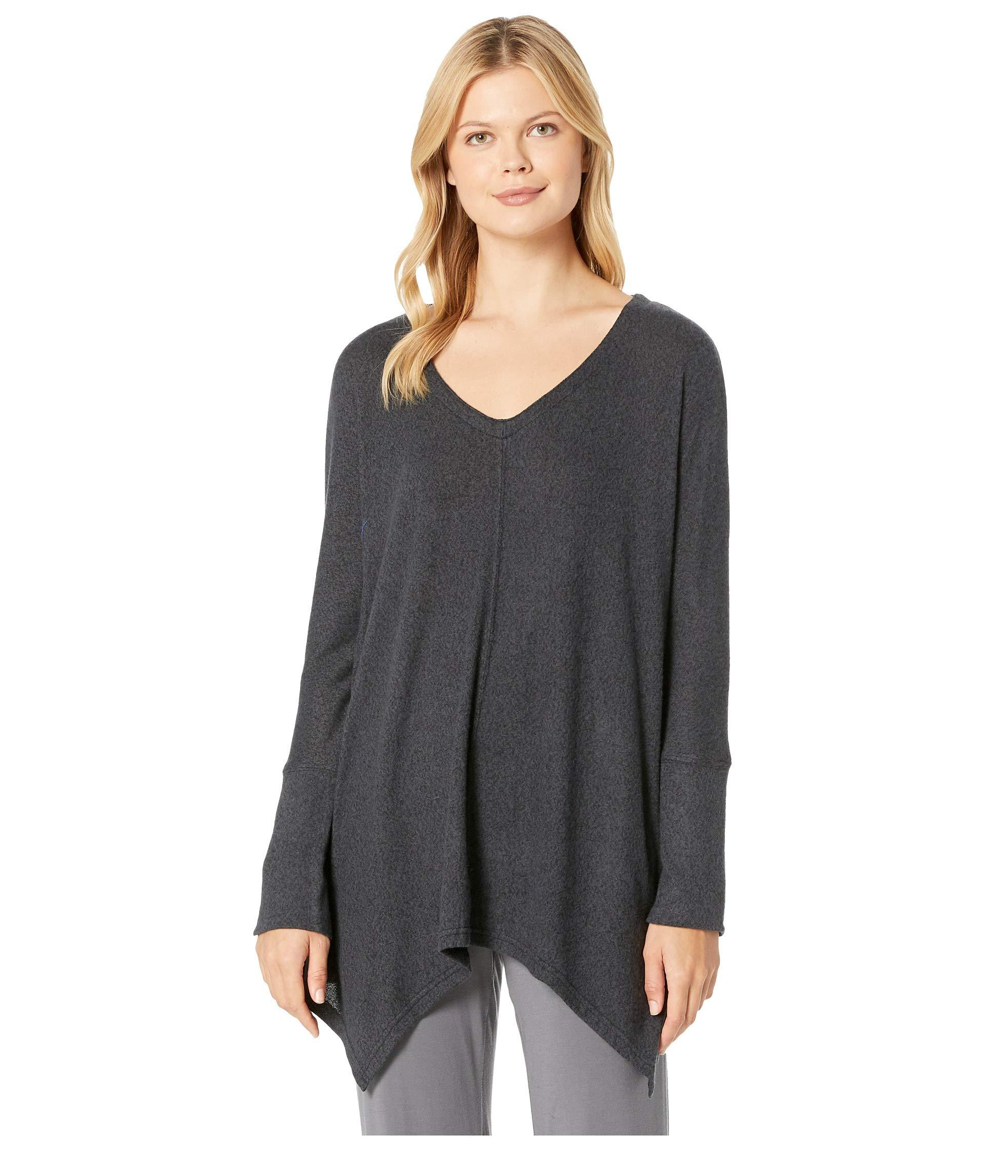 3f1151b87 Lyst - Felina Riley Sweater Knit Poncho in Gray - Save 51%