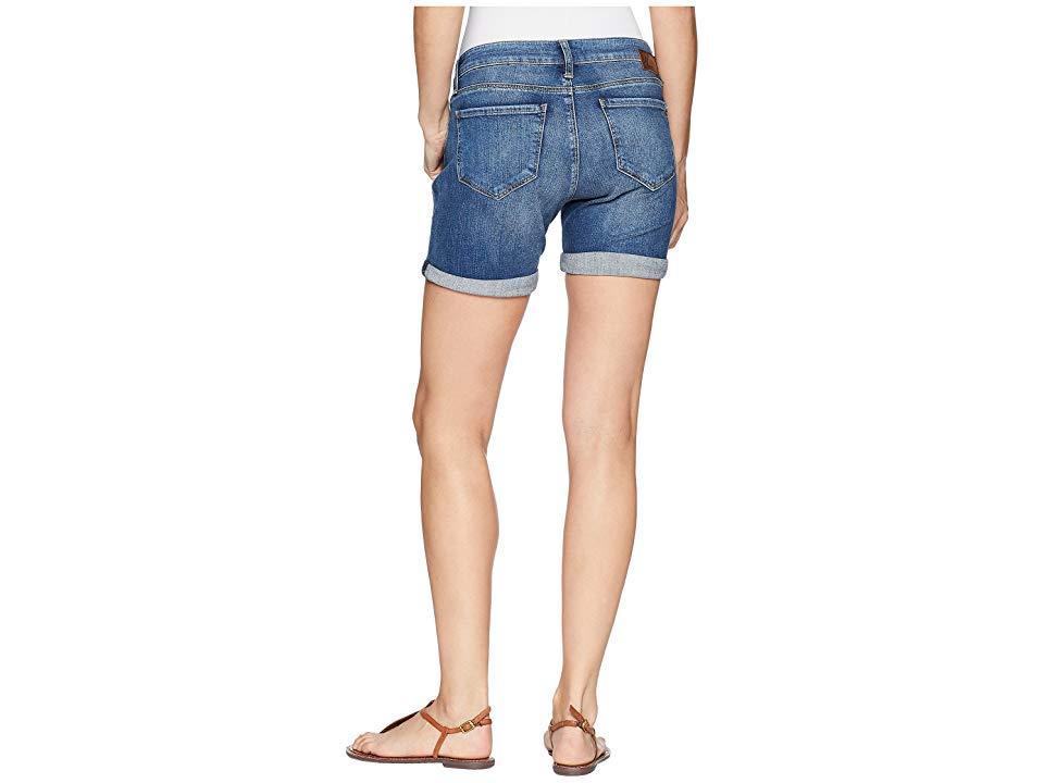 8c69a059 Mavi Jeans Pixie Boyfriend Shorts In Dark Vintage (dark Vintage ...