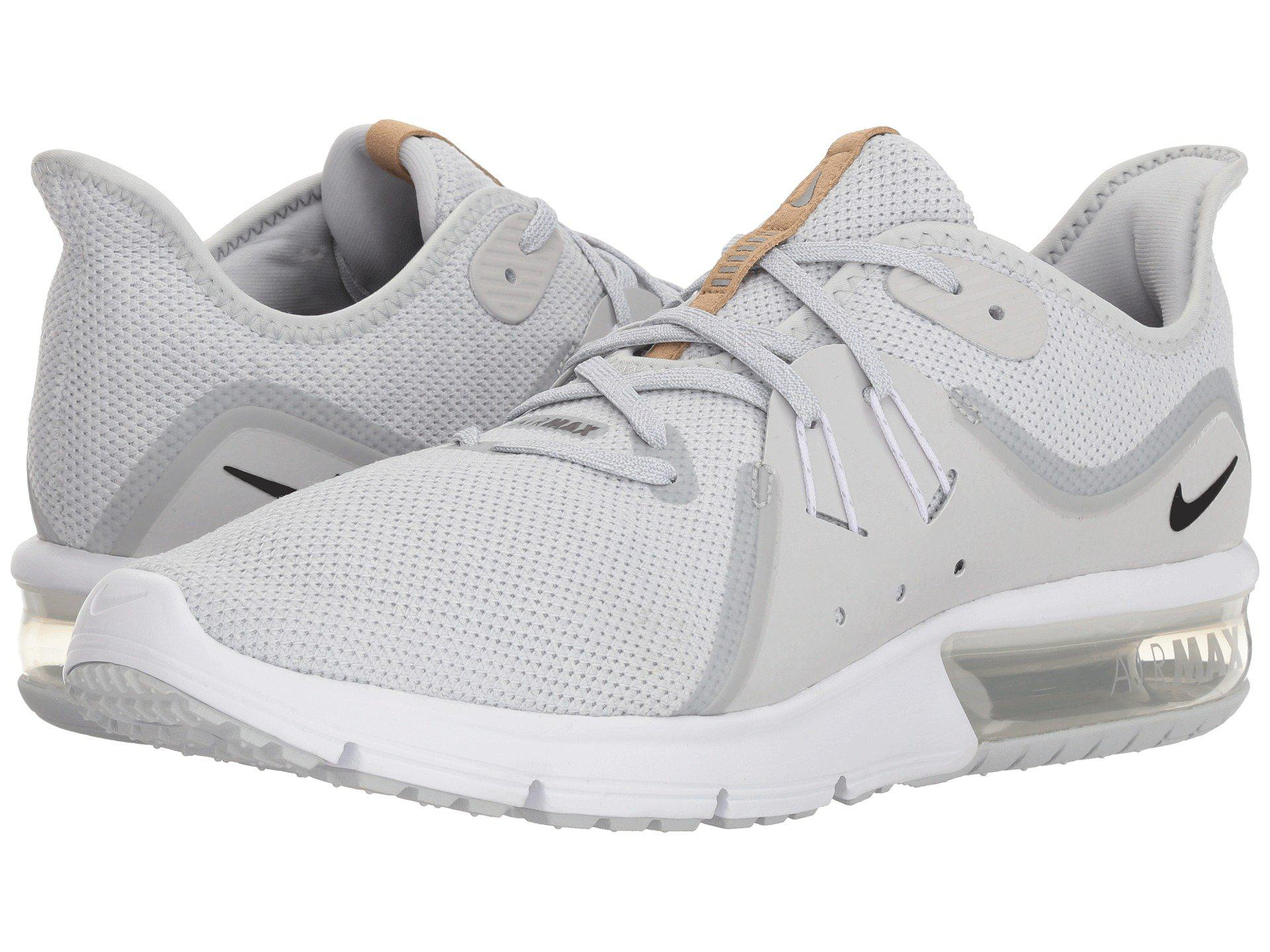 aa215eb9e94 Lyst - Nike Air Max Sequent 3 in White for Men - Save 2%