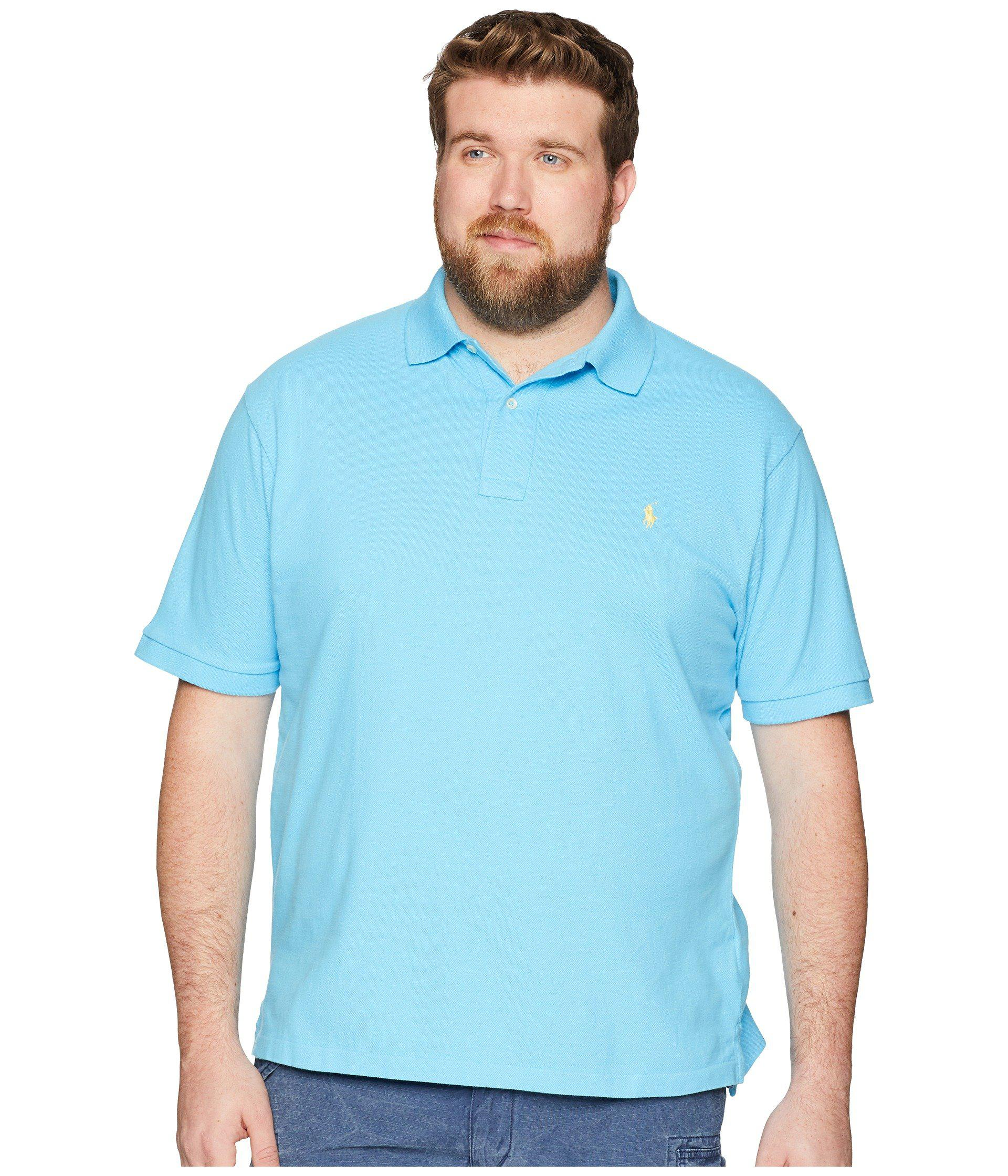 Lyst - Polo Ralph Lauren Big   Tall Weathered Mesh Short Sleeve Knit ... bb2d0b80fd59