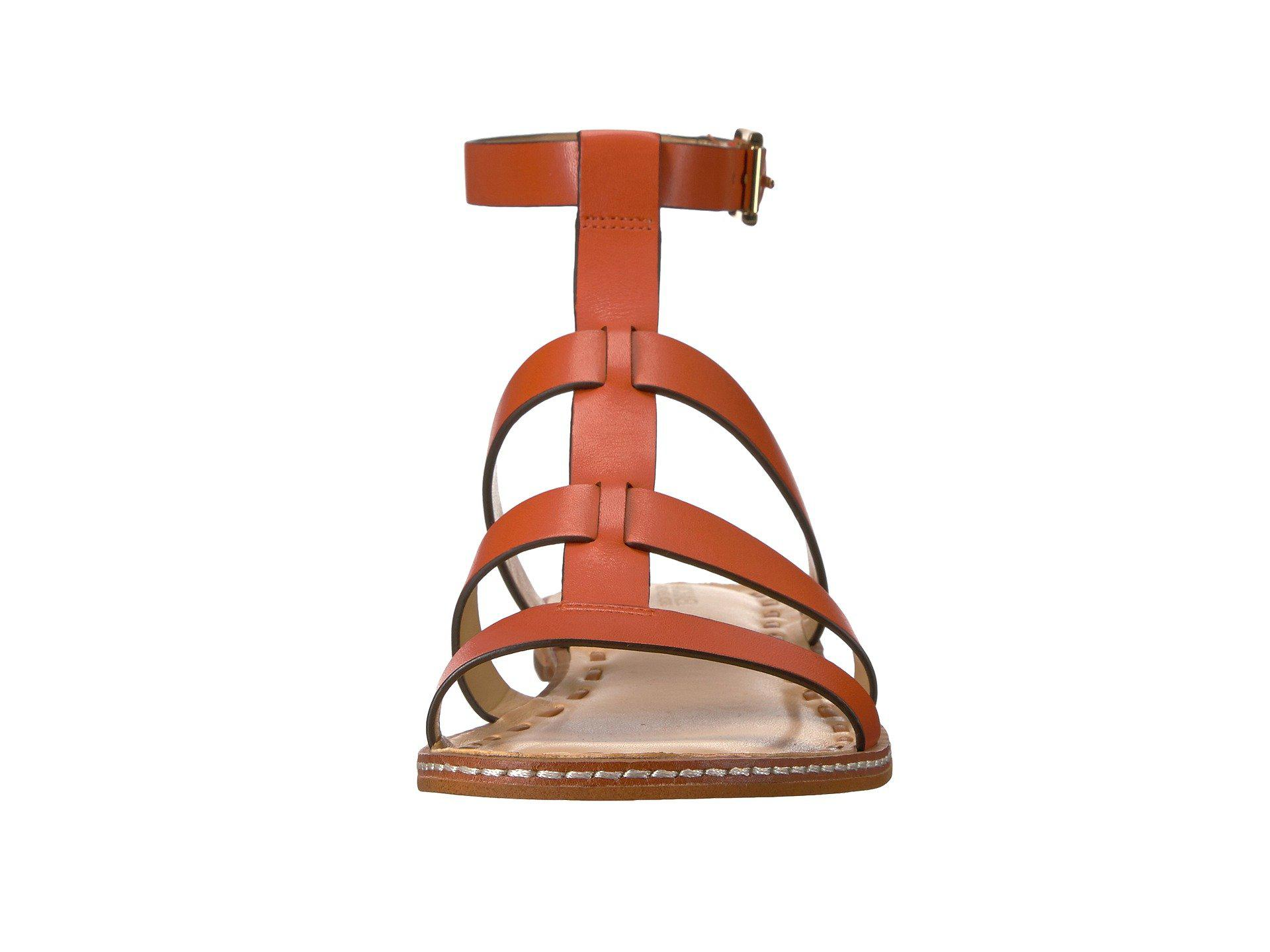 09b17fcd082 Lyst - MICHAEL Michael Kors Fallon Flat Sandal in Brown