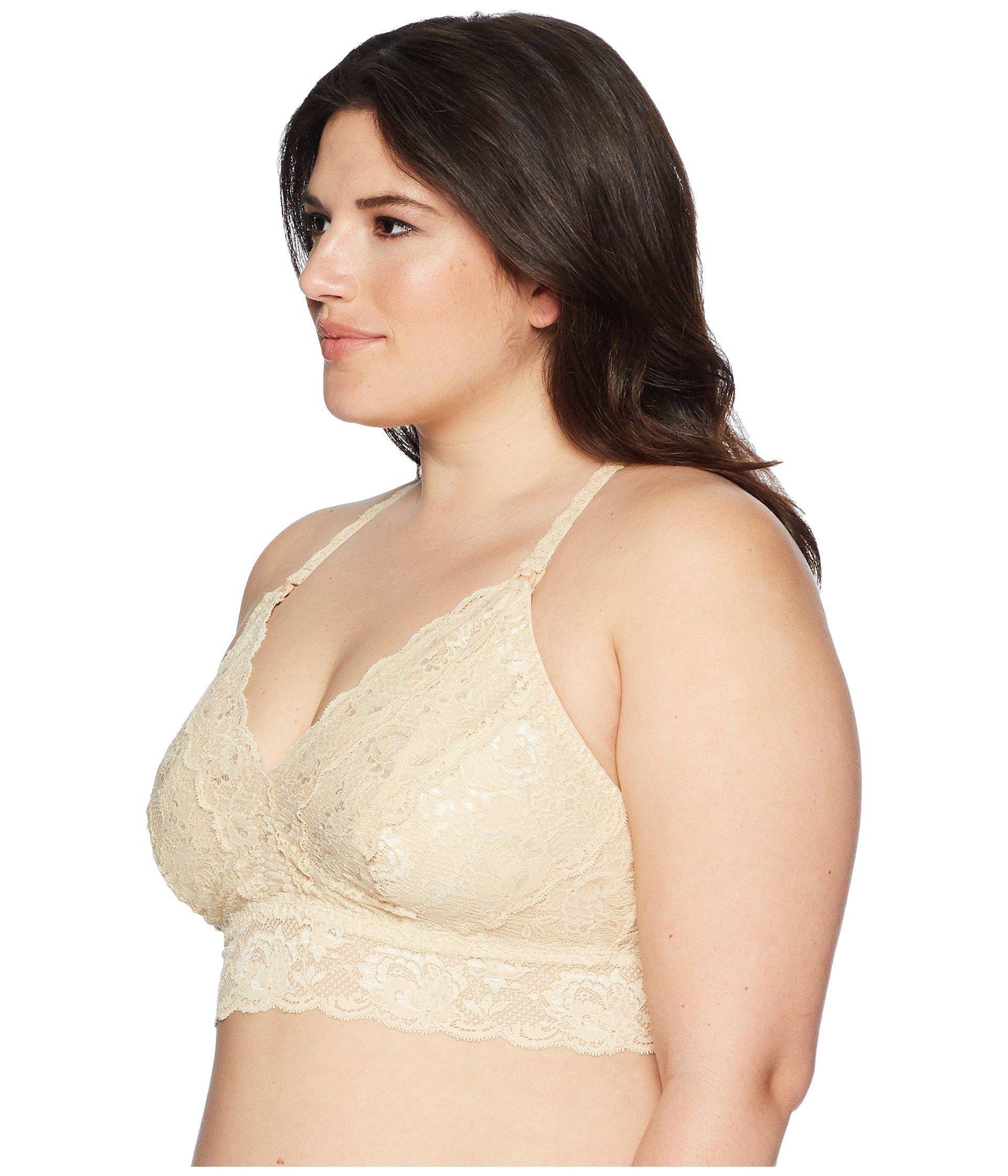 3173adbbc6 Lyst - Cosabella Extended Size Never Say Never Maternity Racerback Girlie  Bralette Never1354p in Natural - Save 35.483870967741936%