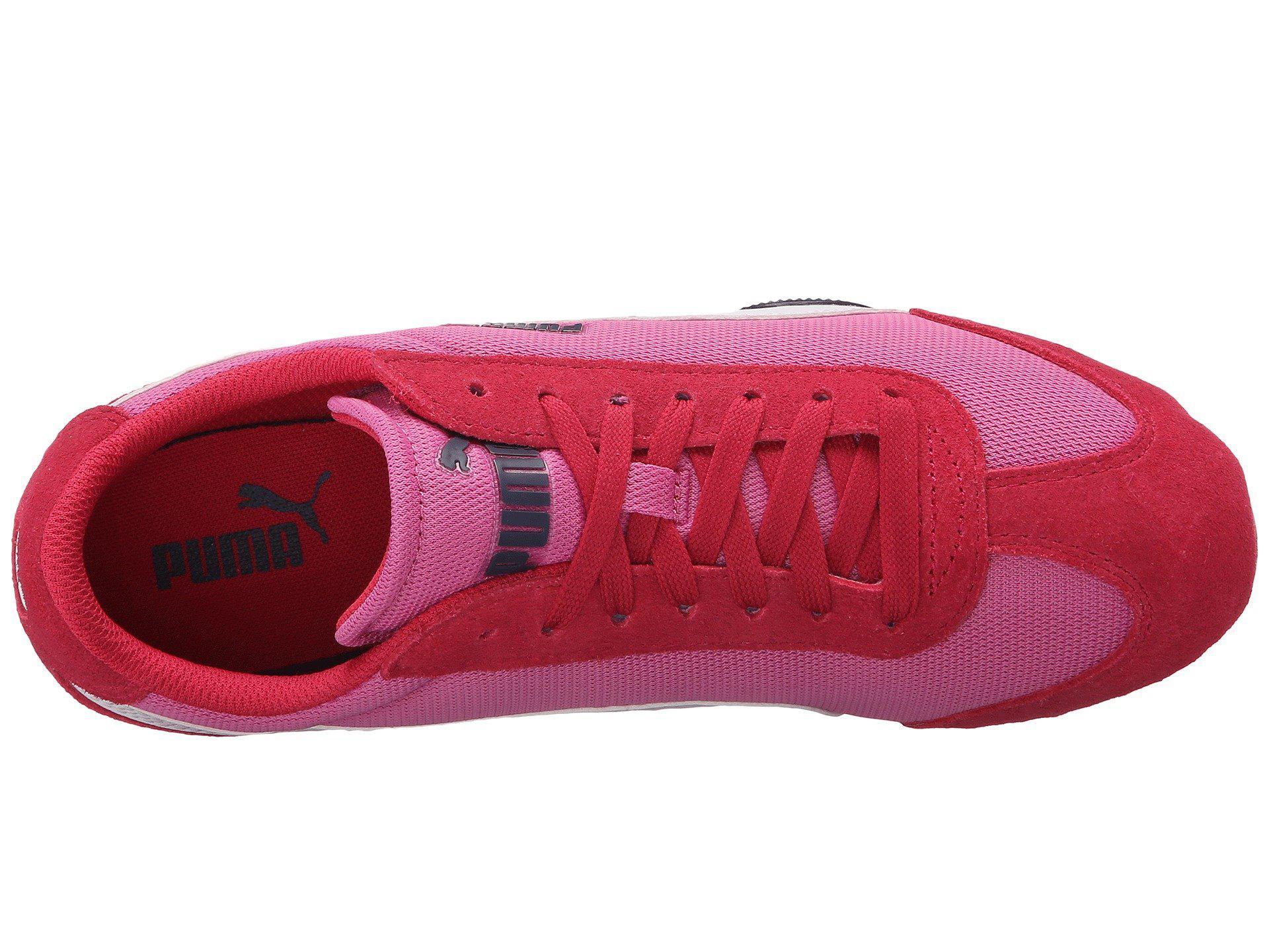b65302611a9 Lyst - PUMA 76 Runner Fun Mesh in Pink