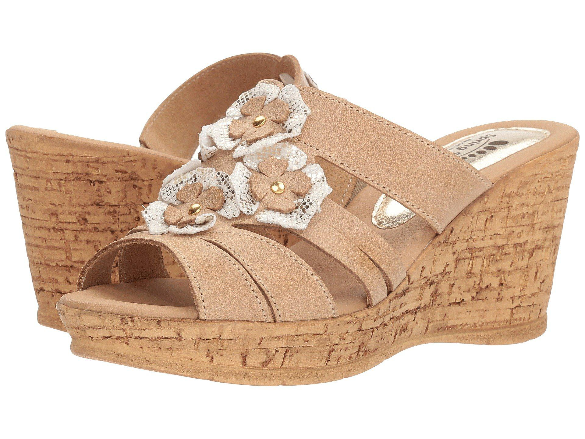1156fd5837f Lyst - Spring Step Rositsa in Natural - Save 45%