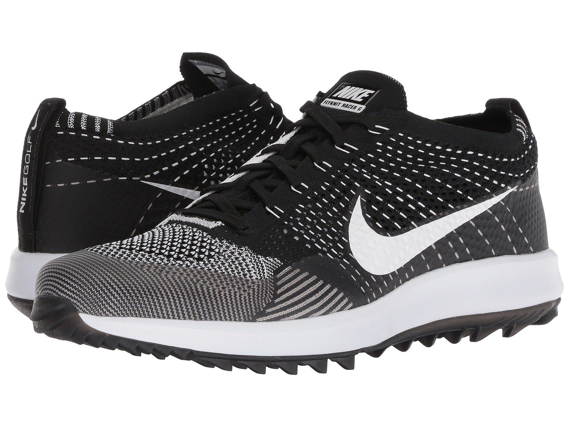 785d2835b8fb1 Lyst - Nike Flyknit Racer G in Black for Men - Save 4%