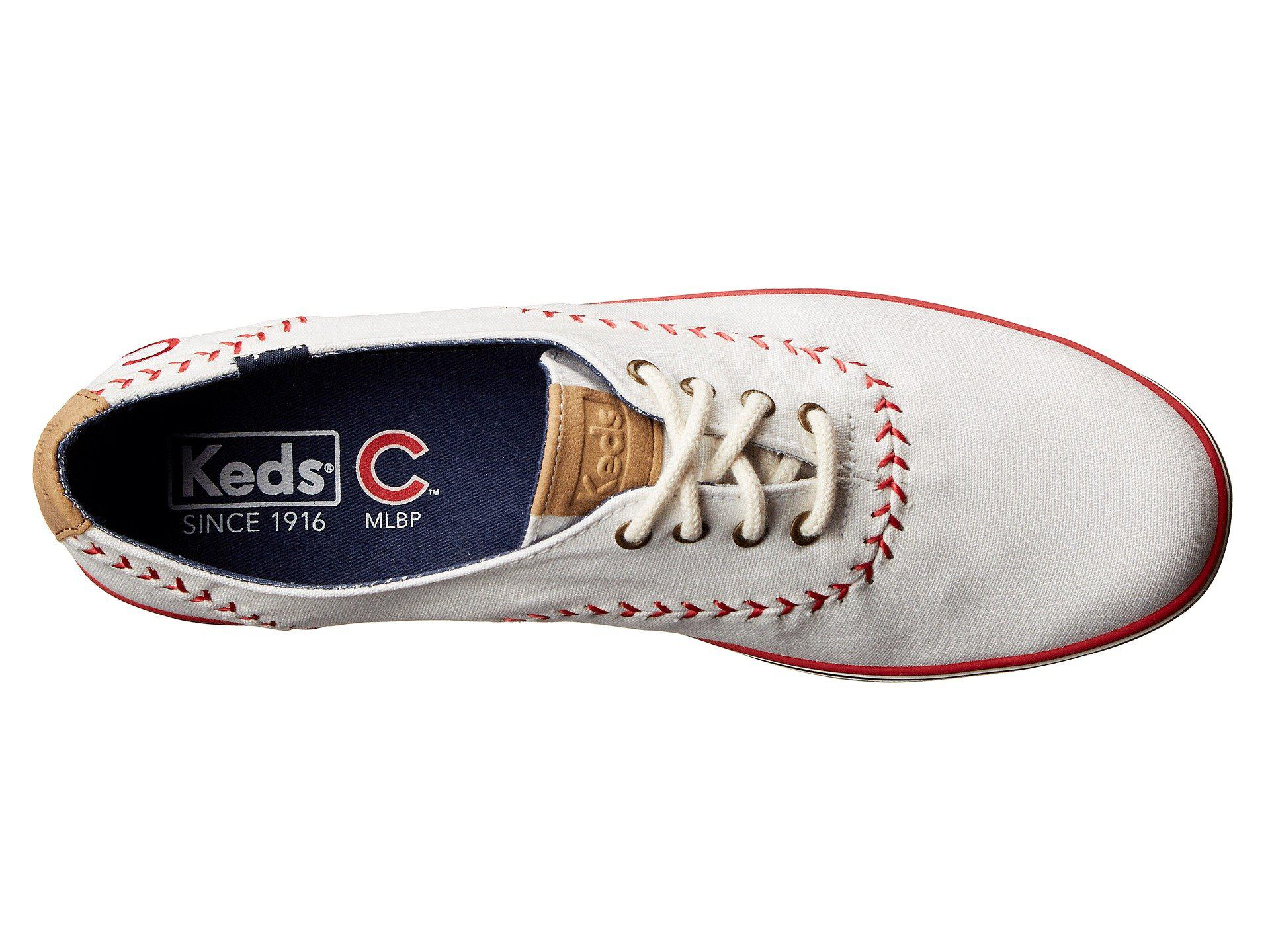 42bfd23412be8 Lyst - Keds Champion Mlb Pennant - Cubs in White