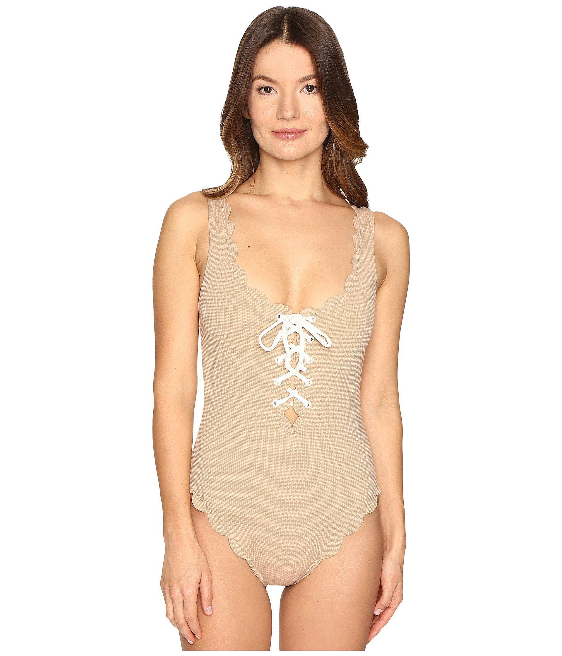 ba04688f6f3 Marysia Swim Palm Springs Tie Maillot One-piece - Lyst