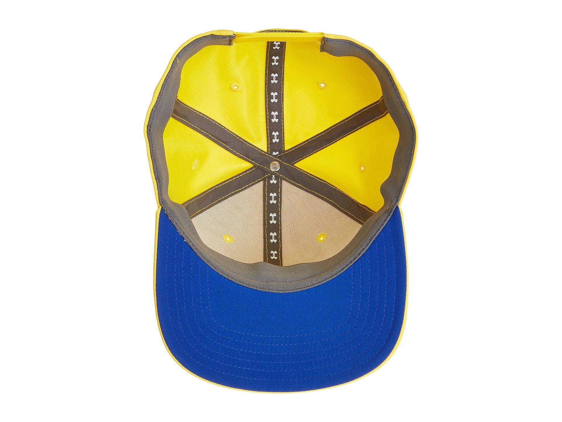 feb0e89b3b1 Under Armour - Yellow Ua Sc30 Core Cap for Men - Lyst. View fullscreen