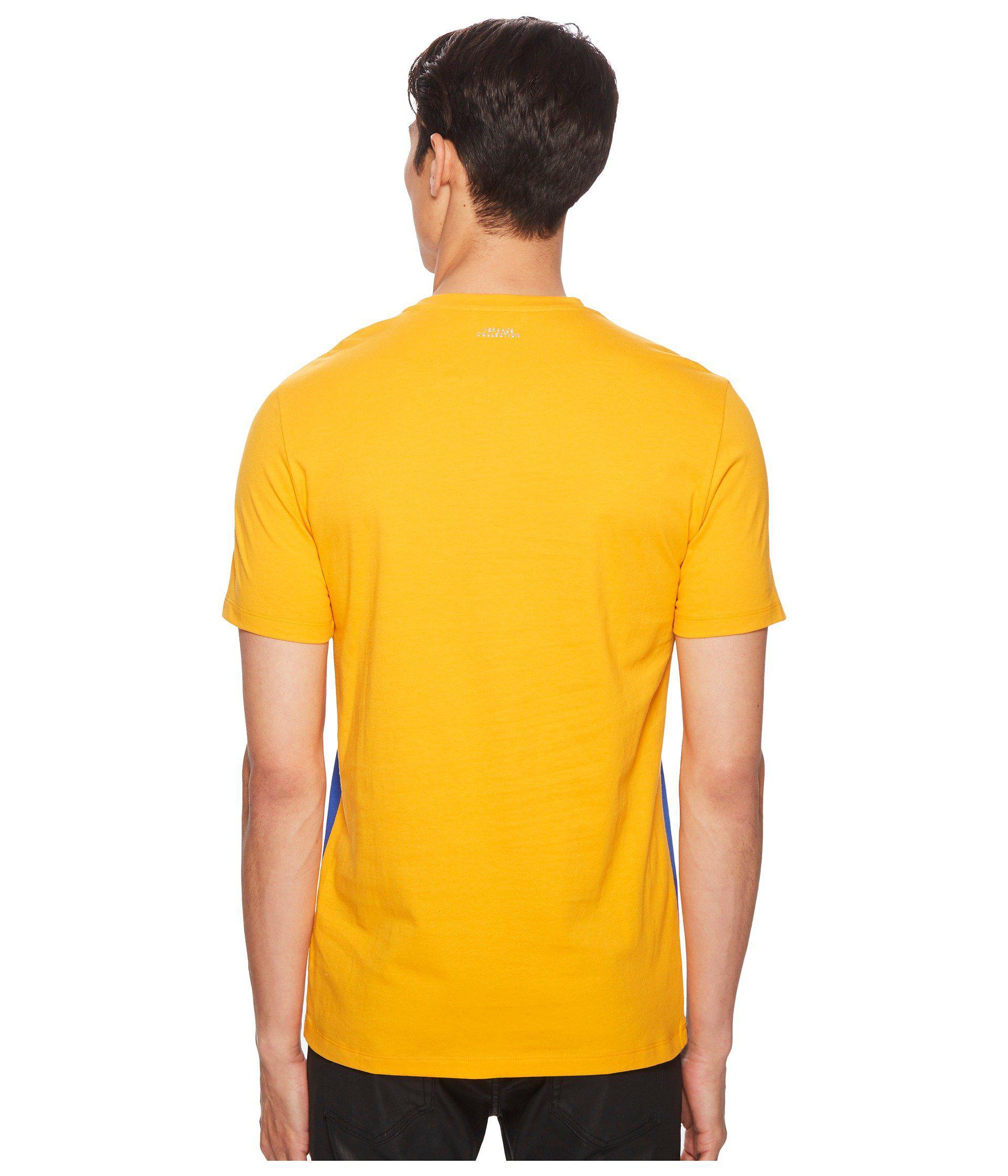 bb840aa0d4a6 Lyst - Versace Frame Print T-shirt in Orange for Men