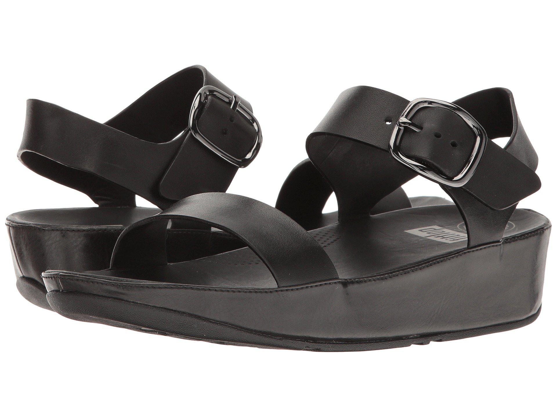 8fbd57157e2 Lyst - Fitflop Bon Sandal in Black