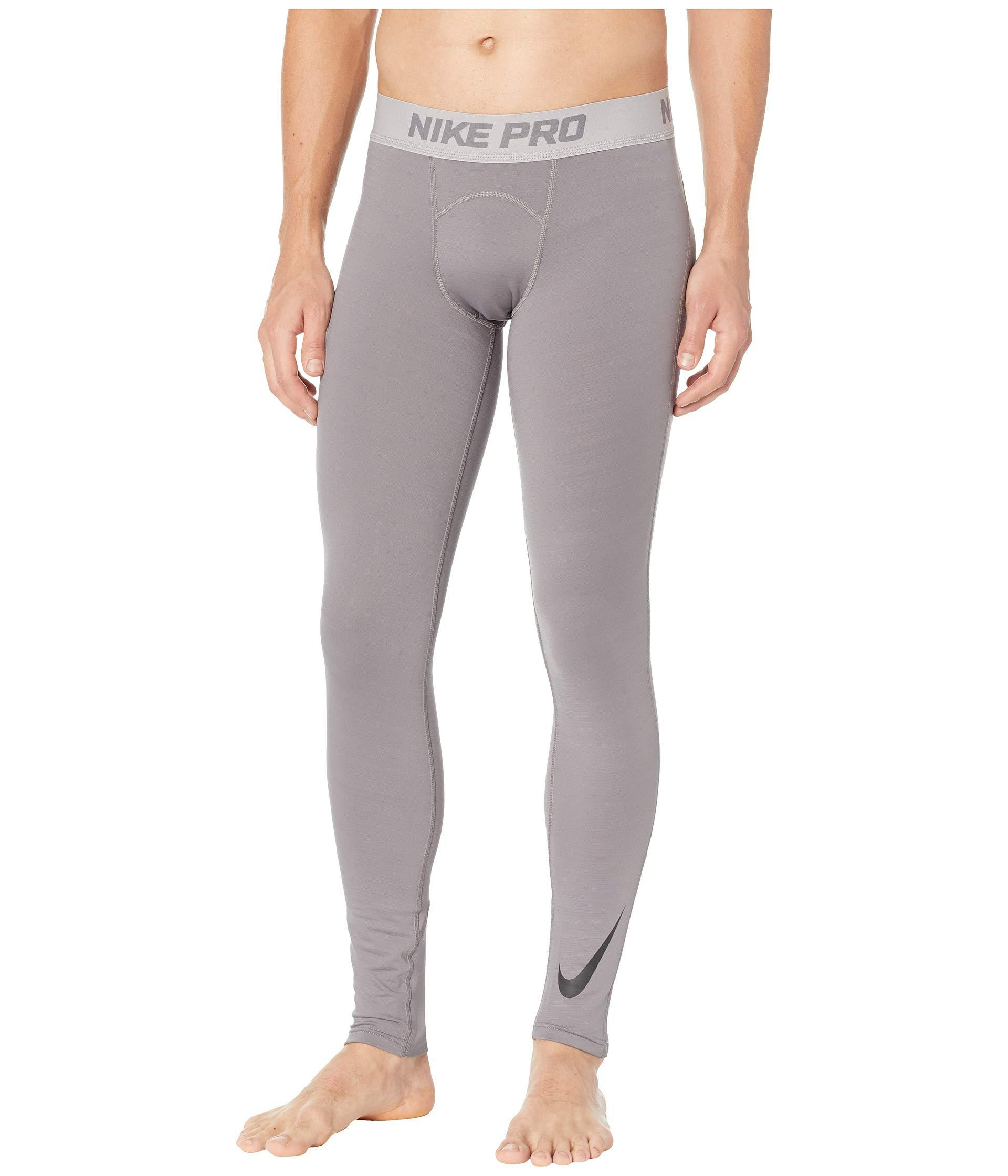 ac5690157cab1 Lyst - Nike Pro Thermal Tights in Gray for Men