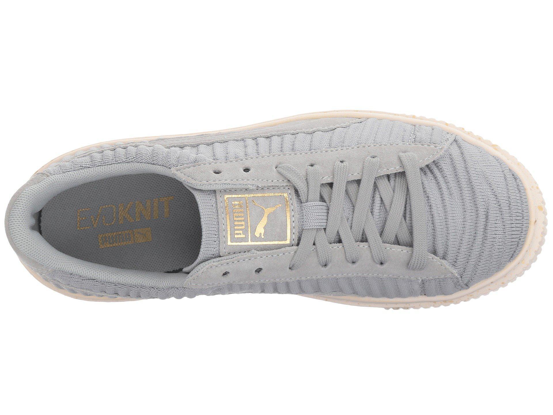 9492506679cf01 Lyst - Puma Basket Platform Ow in White - Save 36.36363636363637%