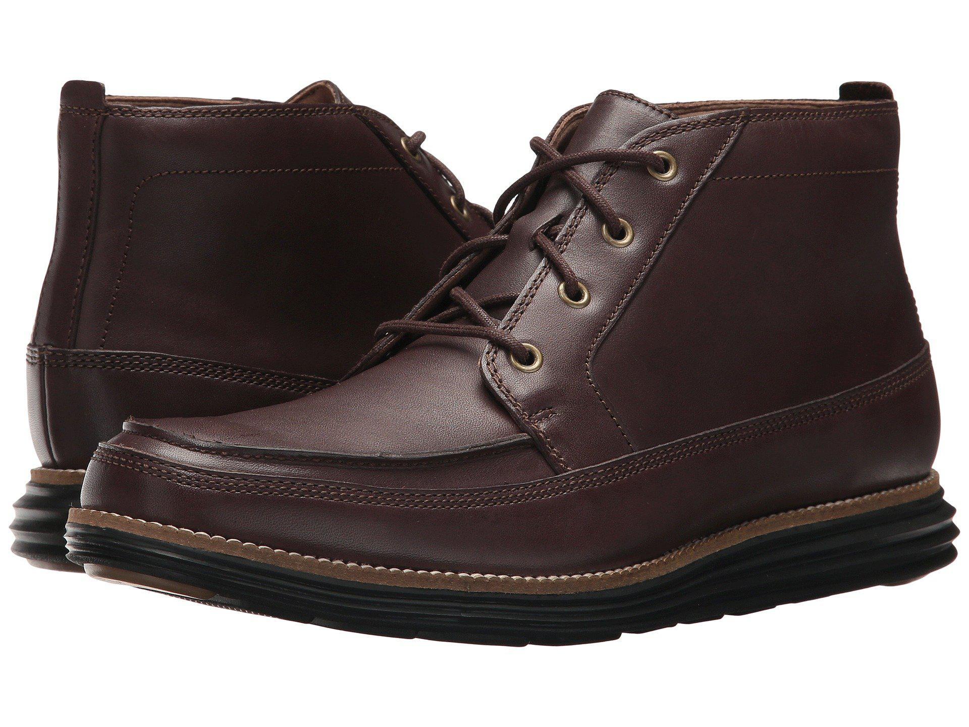9cfc7b8043d Lyst - Cole Haan Original Grand.os Moc Chukka Ii in Brown for Men