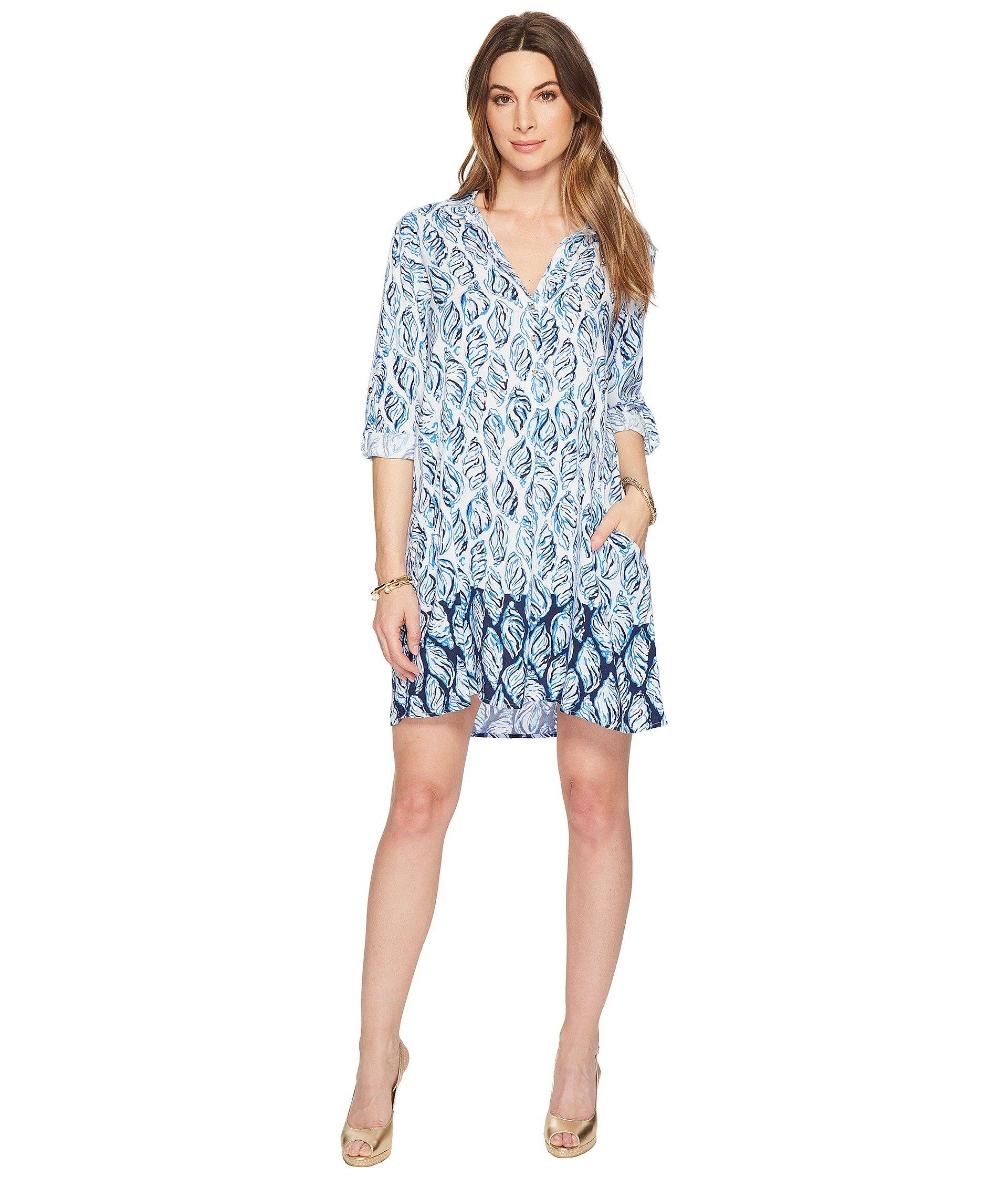 a5445b63ea Lilly Pulitzer Lillith Tunic Dress (resort White Drop In Engineered ...