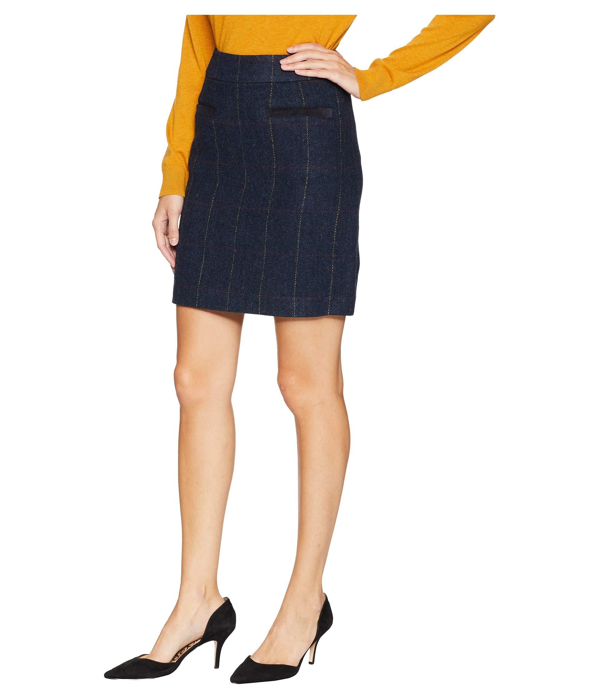 0a979289ca Lyst - Joules Sheridan Tweed Skirt in Blue - Save 43%