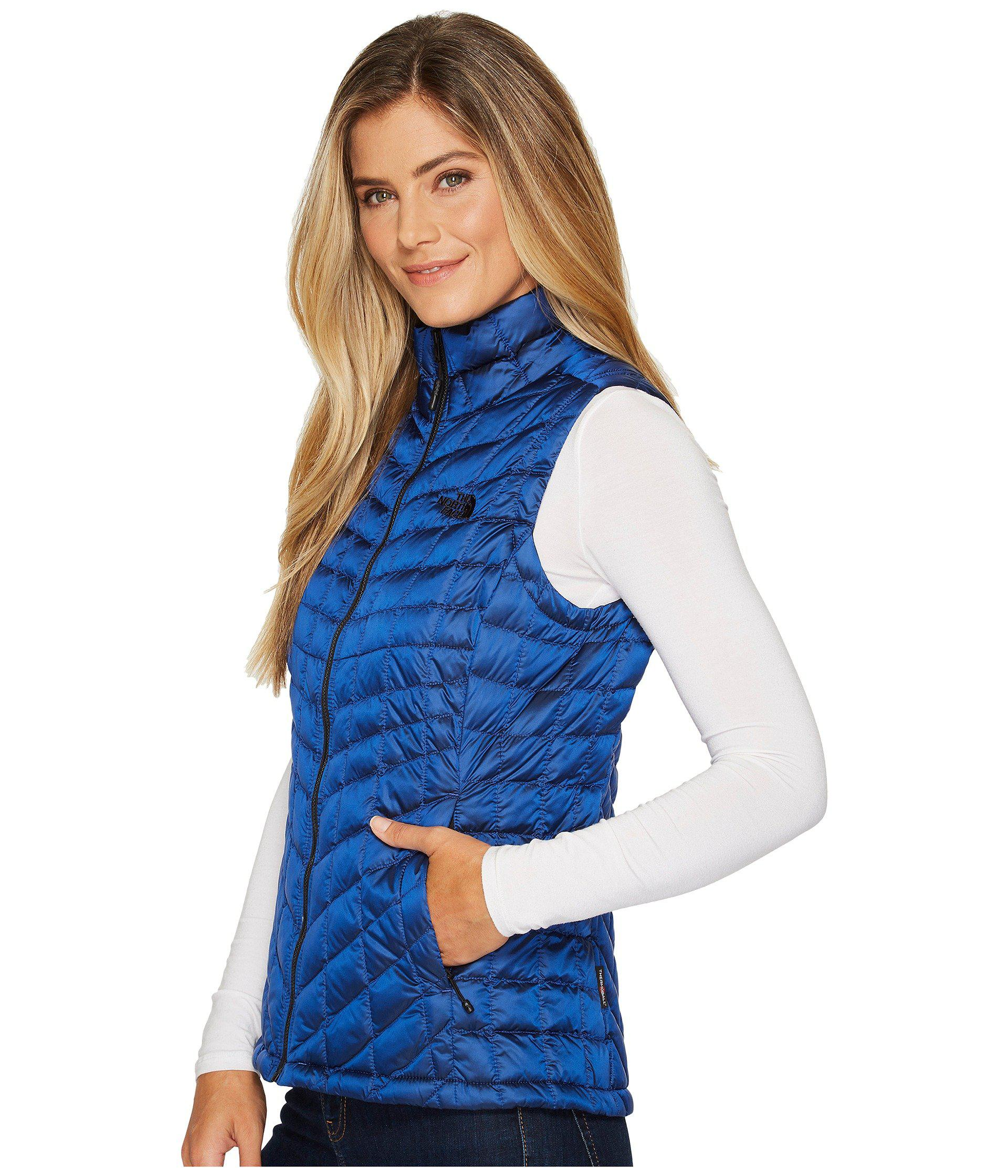 17cb2b2a7dc9 Lyst - The North Face Thermoball Vest in Blue - Save 44%