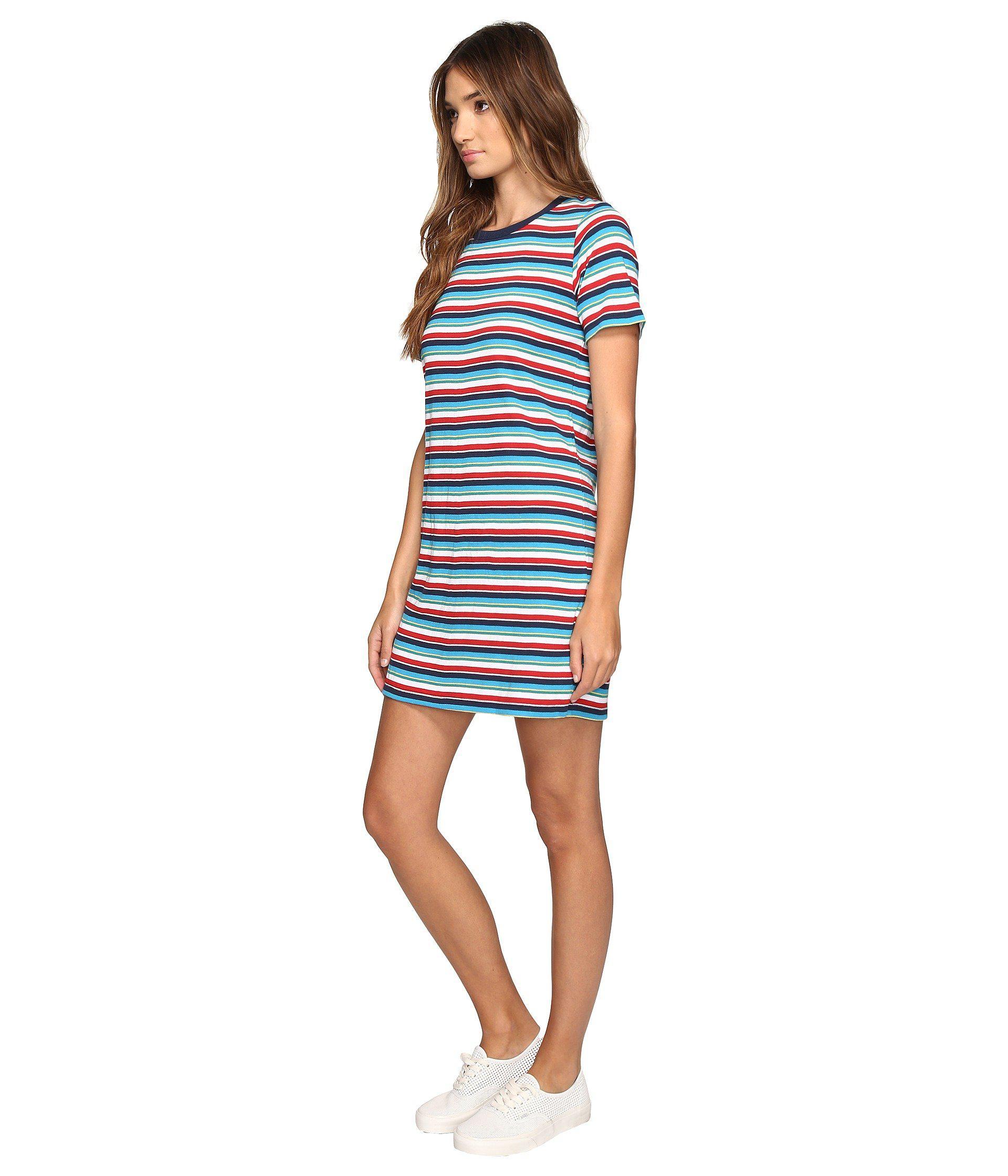 eaa082392f Lyst - Obey Darkside Dress in Blue