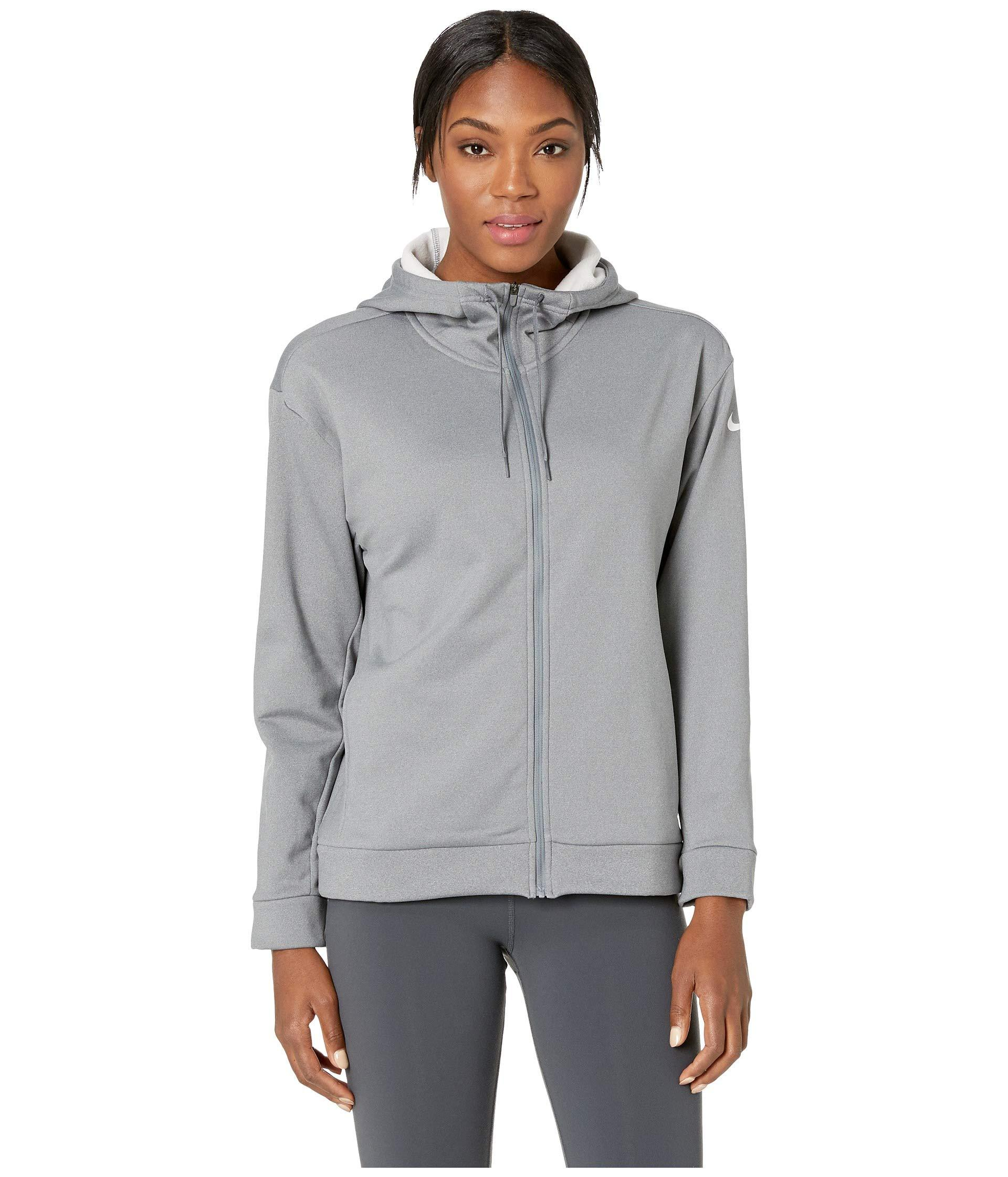 e87821093033 Lyst - Nike Therma All Time Full Zip Hoodie in Gray