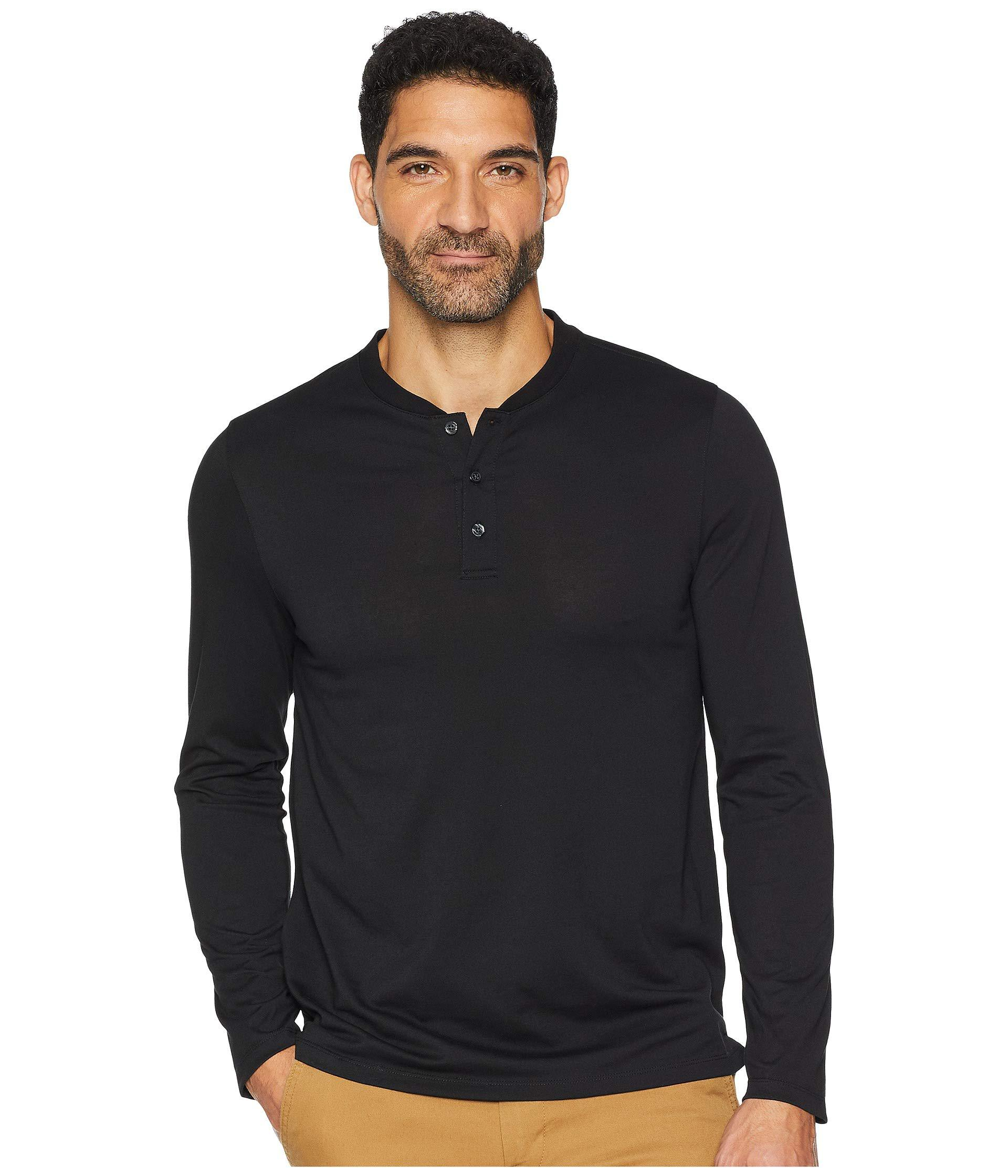fbdaf7e8 Long Sleeve Henley Pima Jersey T Shirt – EDGE Engineering and ...