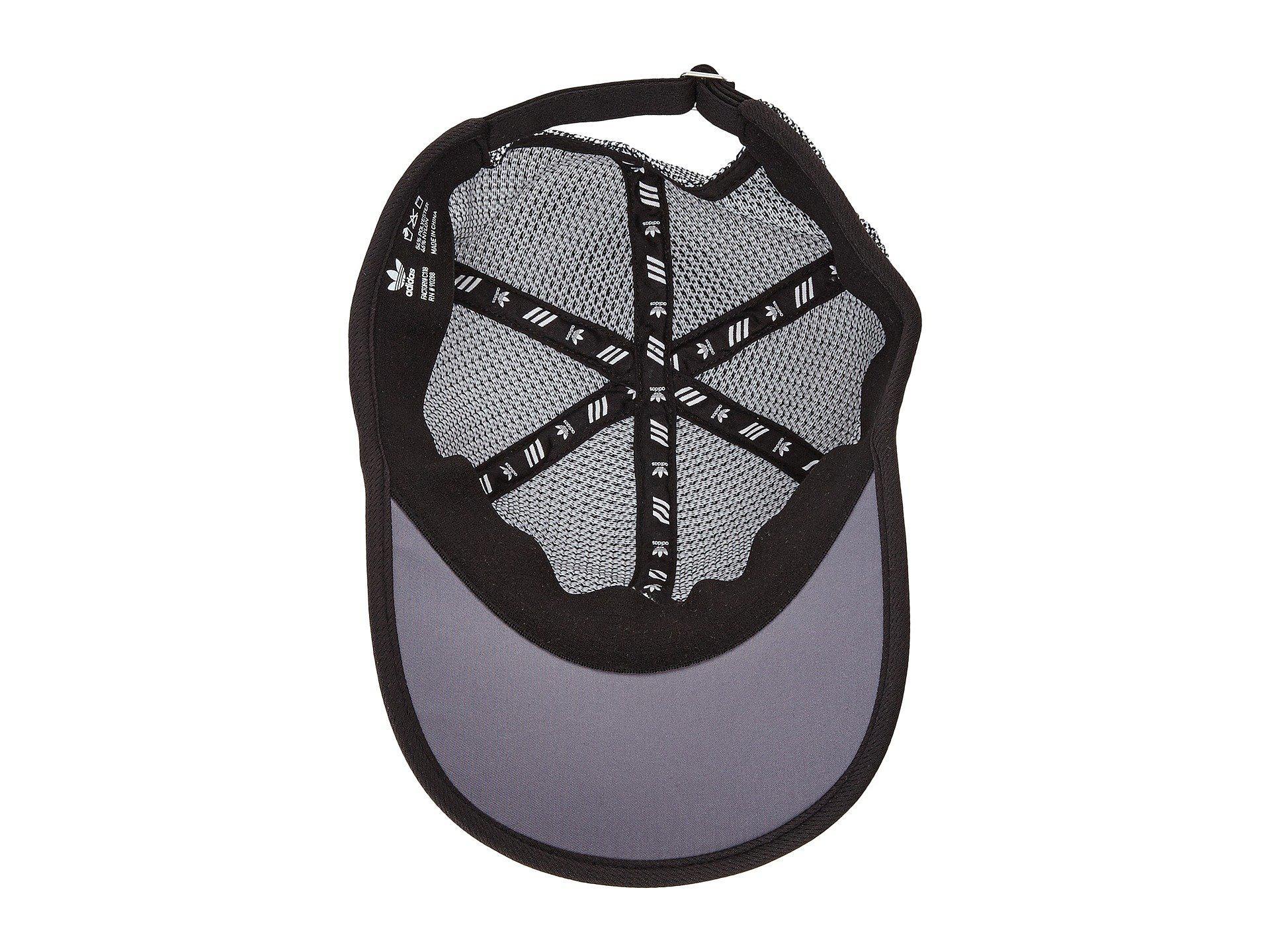 Lyst - adidas Originals Originals Prime Strapback Cap in Black for Men 5307ebac188c