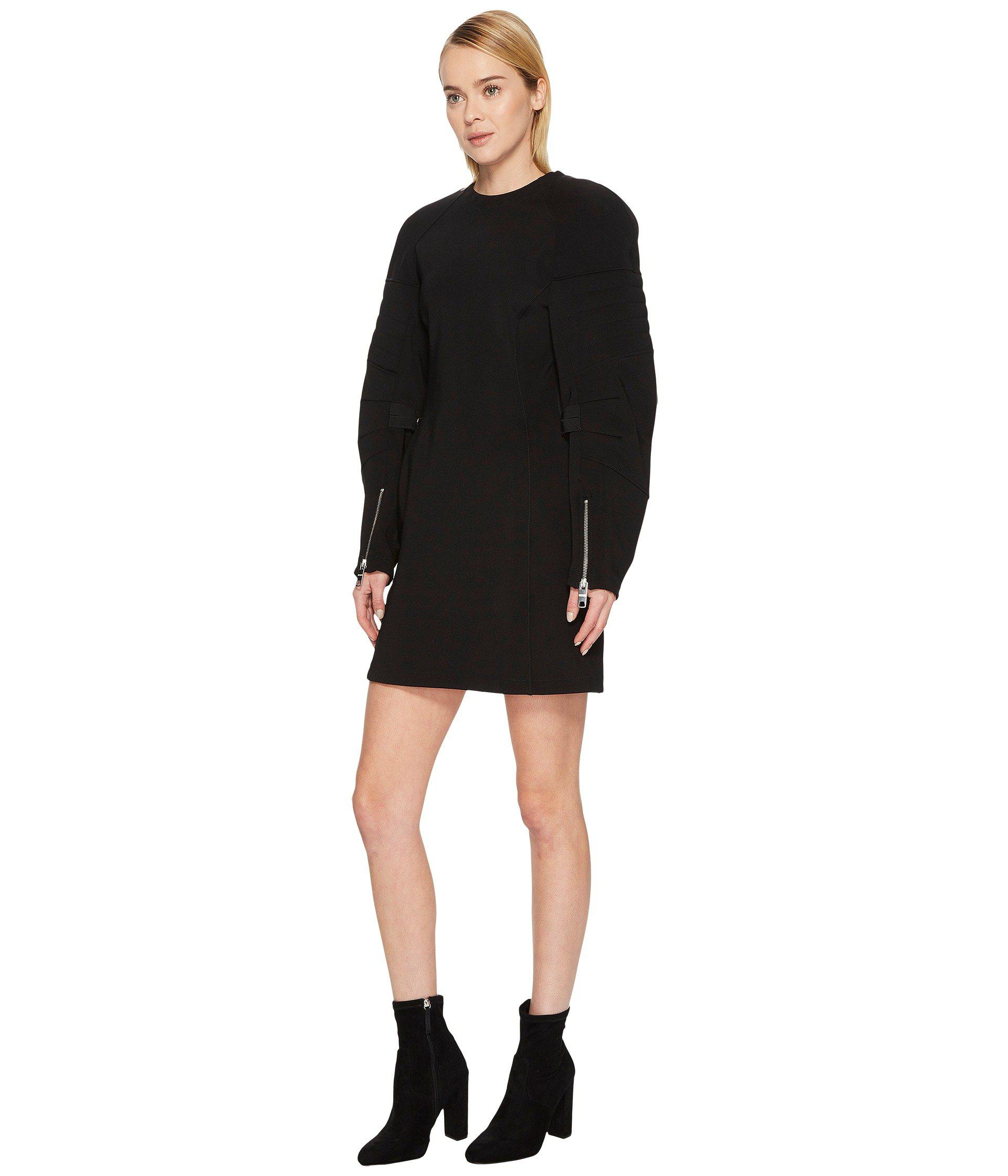 a819f74b62f5 Lyst - Versus Abito Donna Jersey in Black - Save 65%